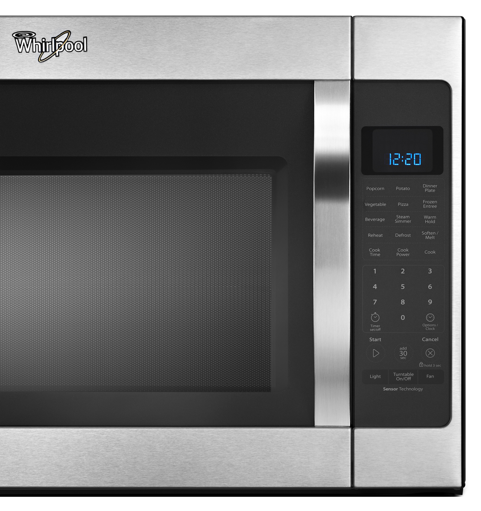 Whirlpool 2.0 cu. ft. Over-the-Range Microwave w/ CleanRelease® Non-Stick Interior - Stainless Steel
