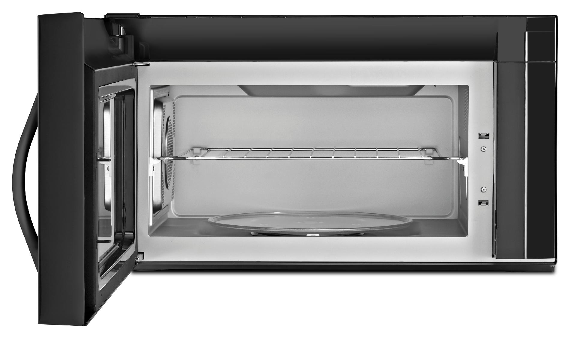 Whirlpool 1.9 cu. ft. Over-the-Range Microwave w/ TimeSavor™ Plus True Convection Cooking System - Black