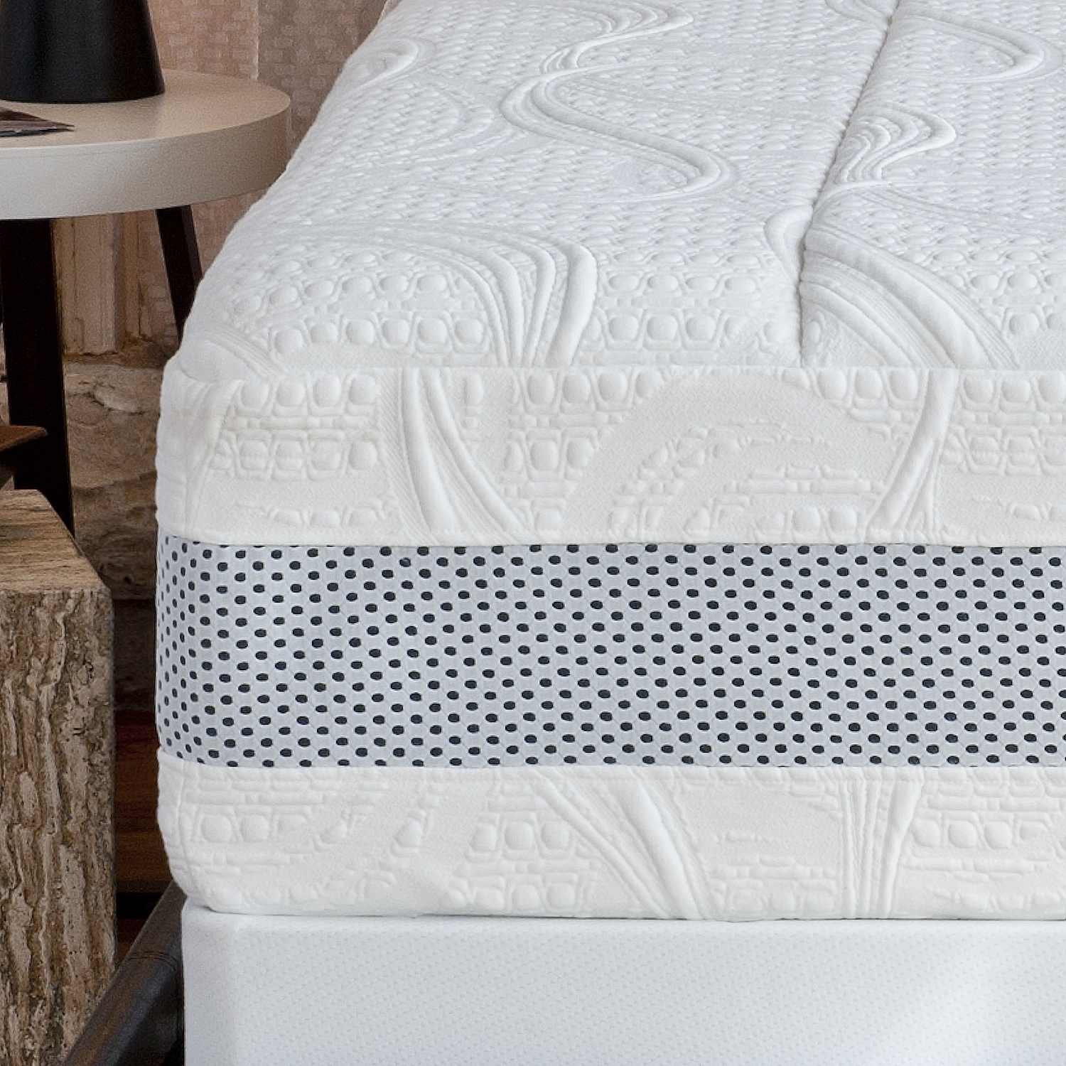 Night Therapy 14 Inch Grand Memory Foam Mattress Only King