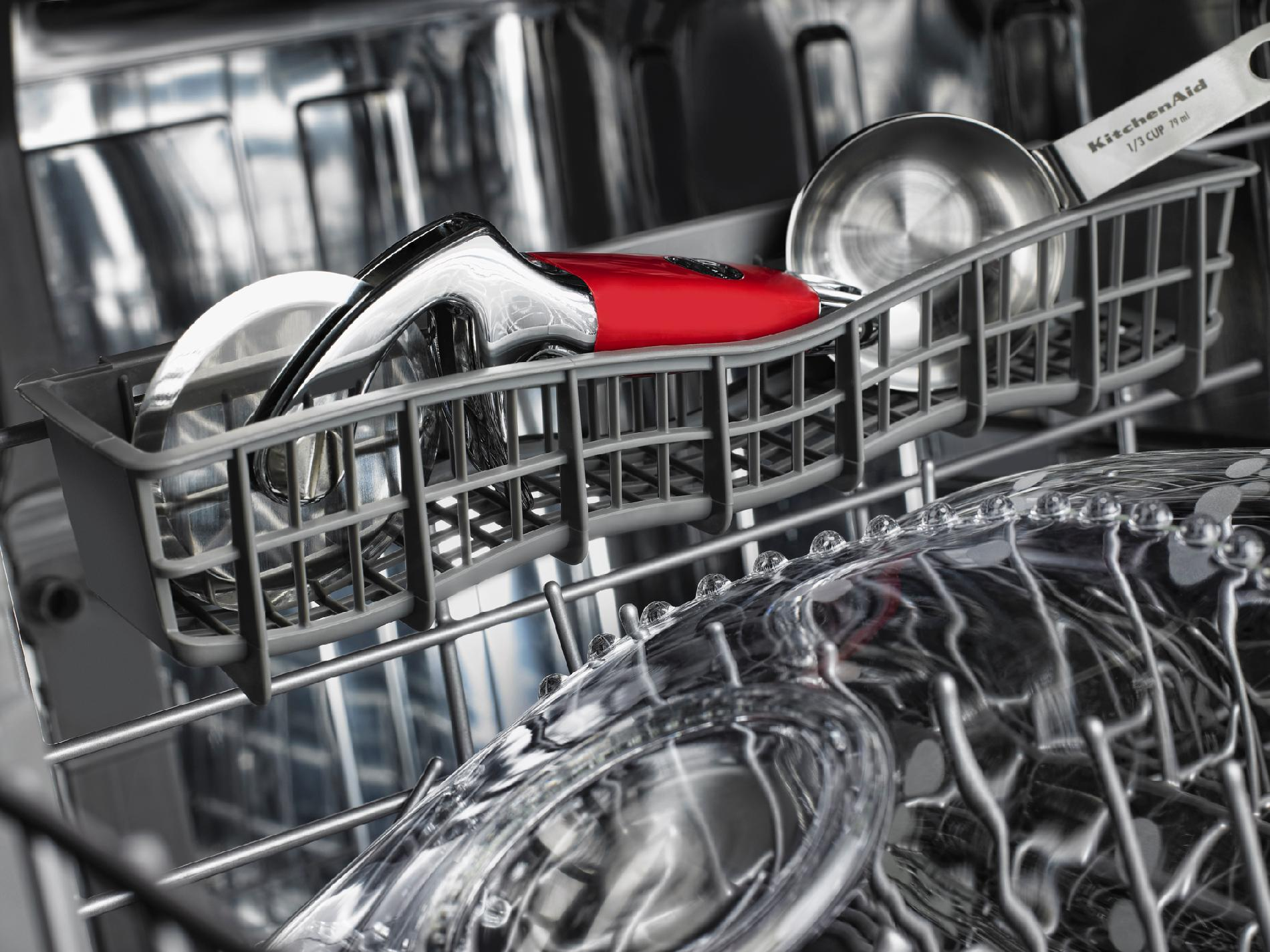 KitchenAid 24-in. Built-in Dishwasher w/ ProScrub® Option and Concealed Controls - Stainless