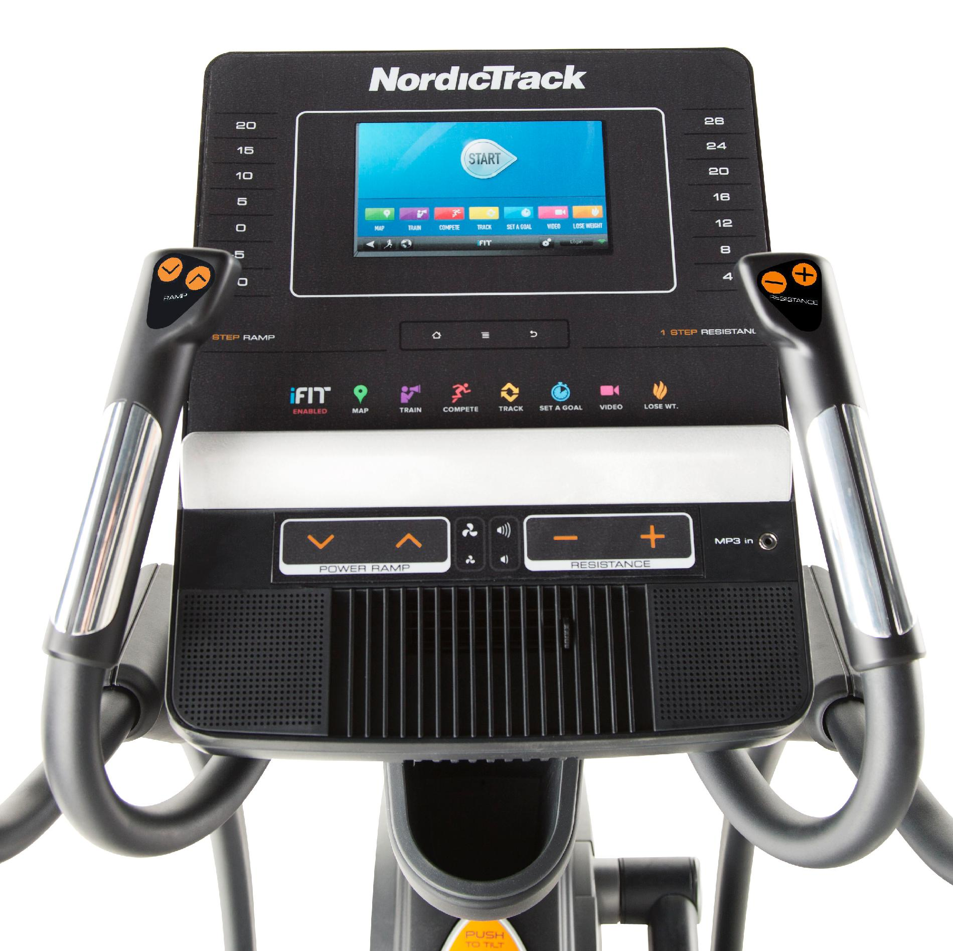 NordicTrack Elite 12.7 Adjustable StrideElliptical Trainer