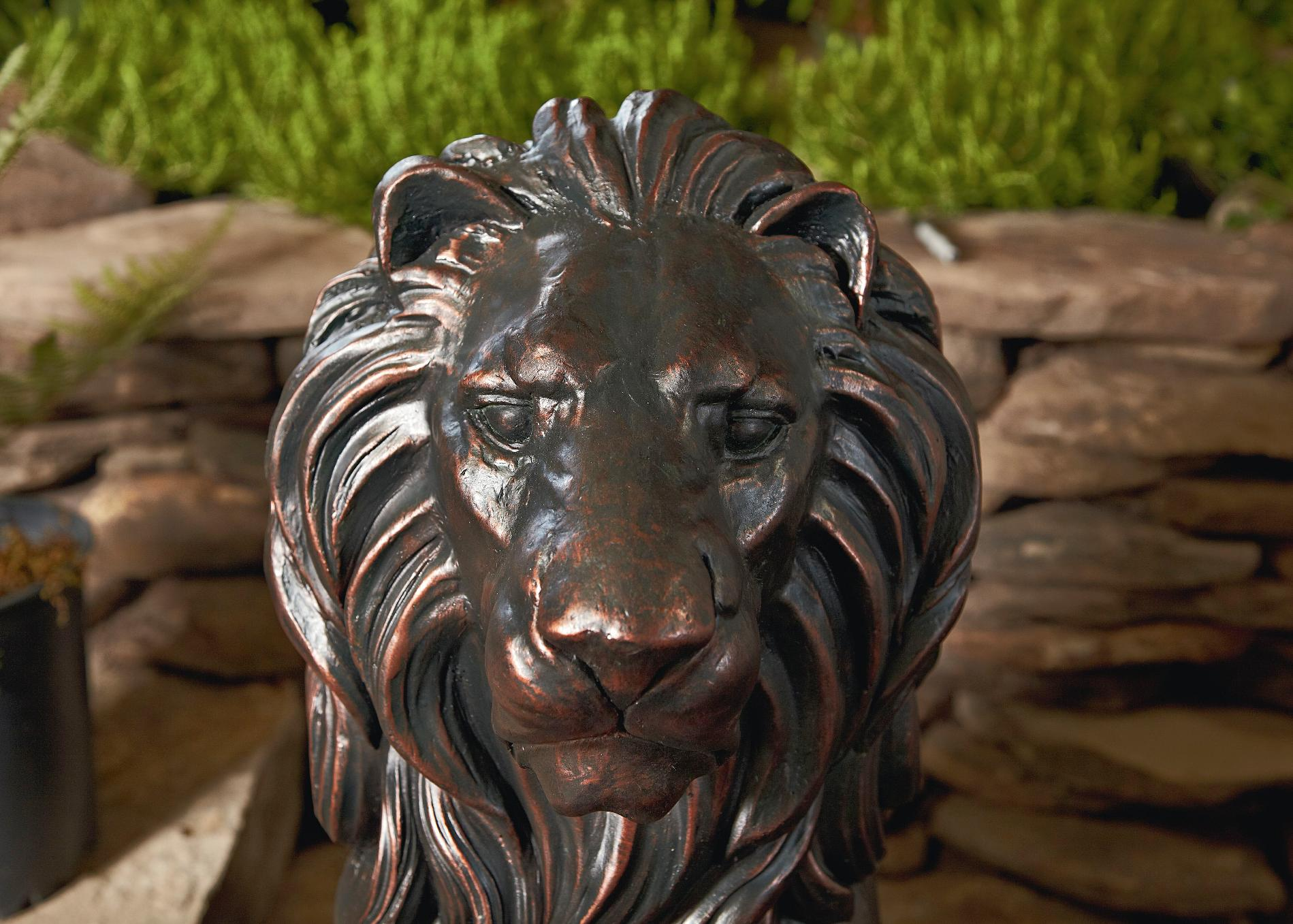 30in Lion Statue* Limited Availability