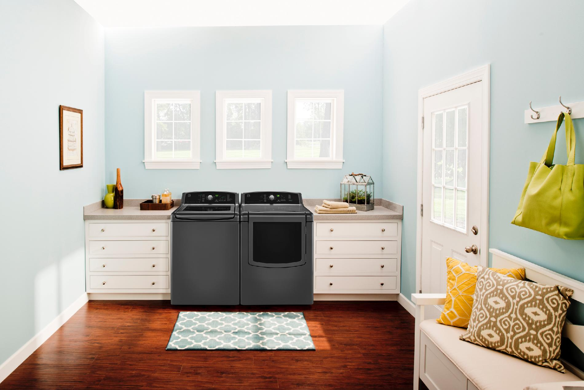 Kenmore 4.5 cu. ft. High-Efficiency Top-Load Washer w/ Express Cycle - Metallic