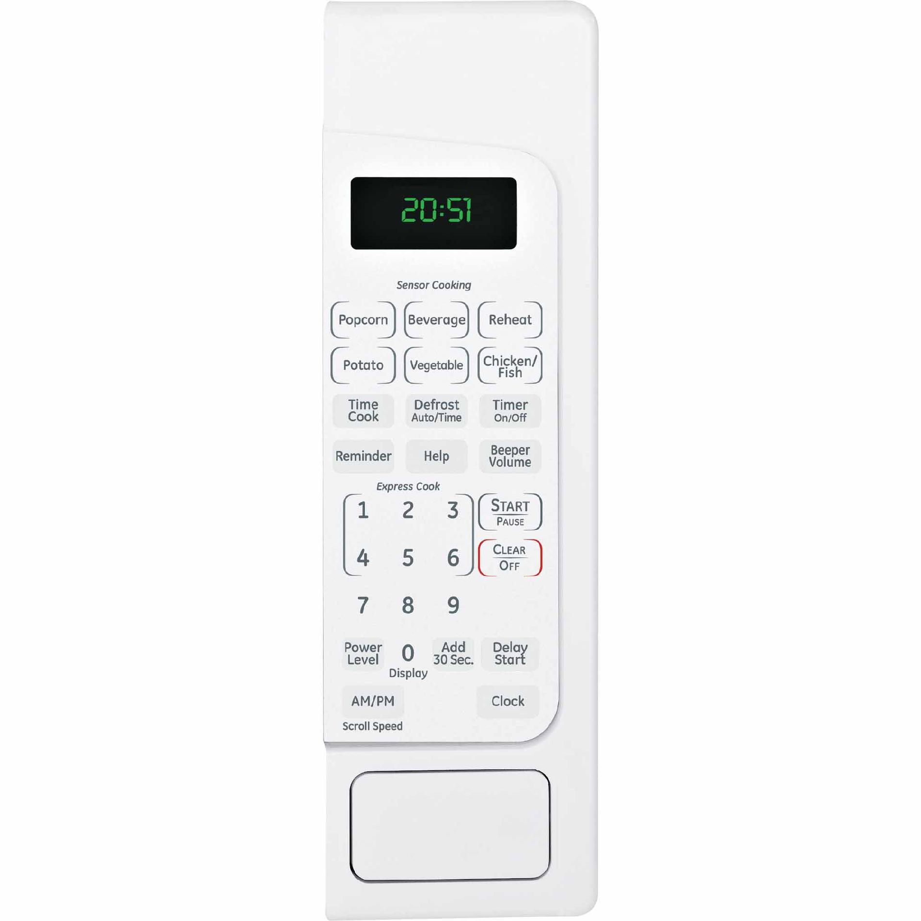 GE 2.0 cu. ft. Countertop Microwave Oven - White