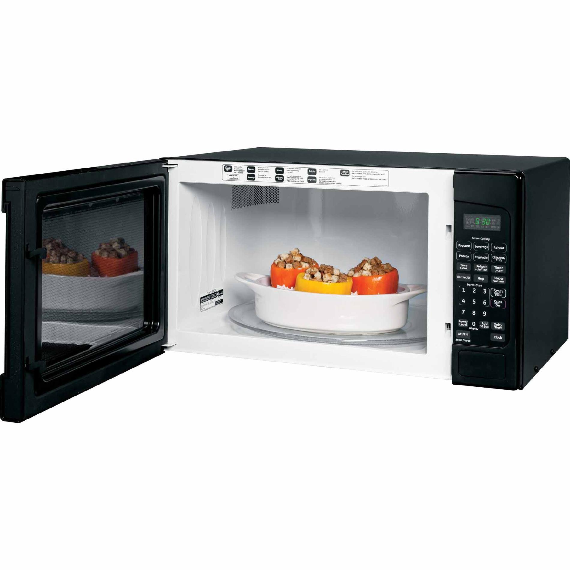 GE 2.0 cu. ft. Countertop Microwave Oven - Black