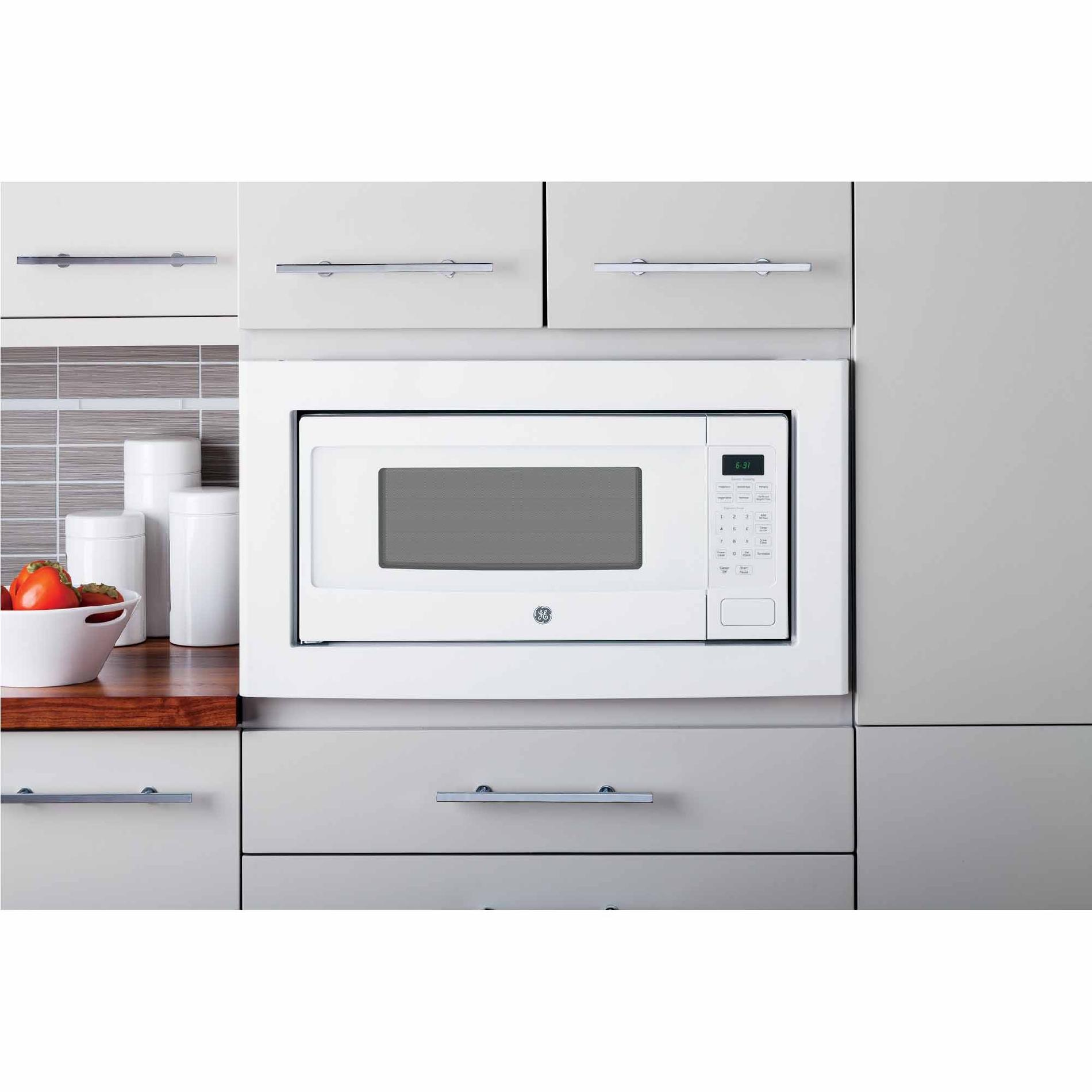 GE Profile PEM31DFWW 1.1 cu. ft. Countertop Microwave Oven - White