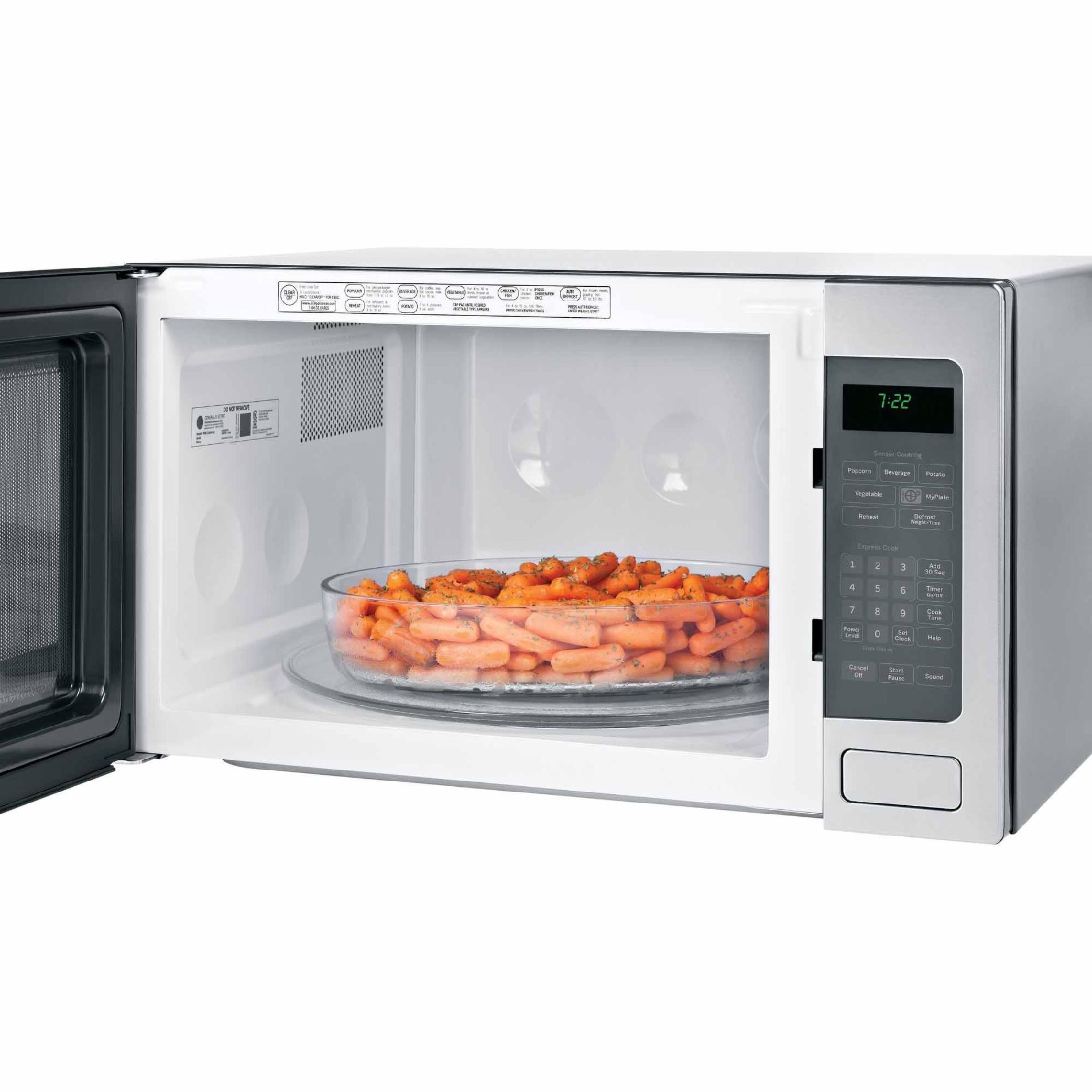 GE Appliances PEB7226SFSS 2.2 cu. ft. Countertop Microwave Oven - Stainless Steel