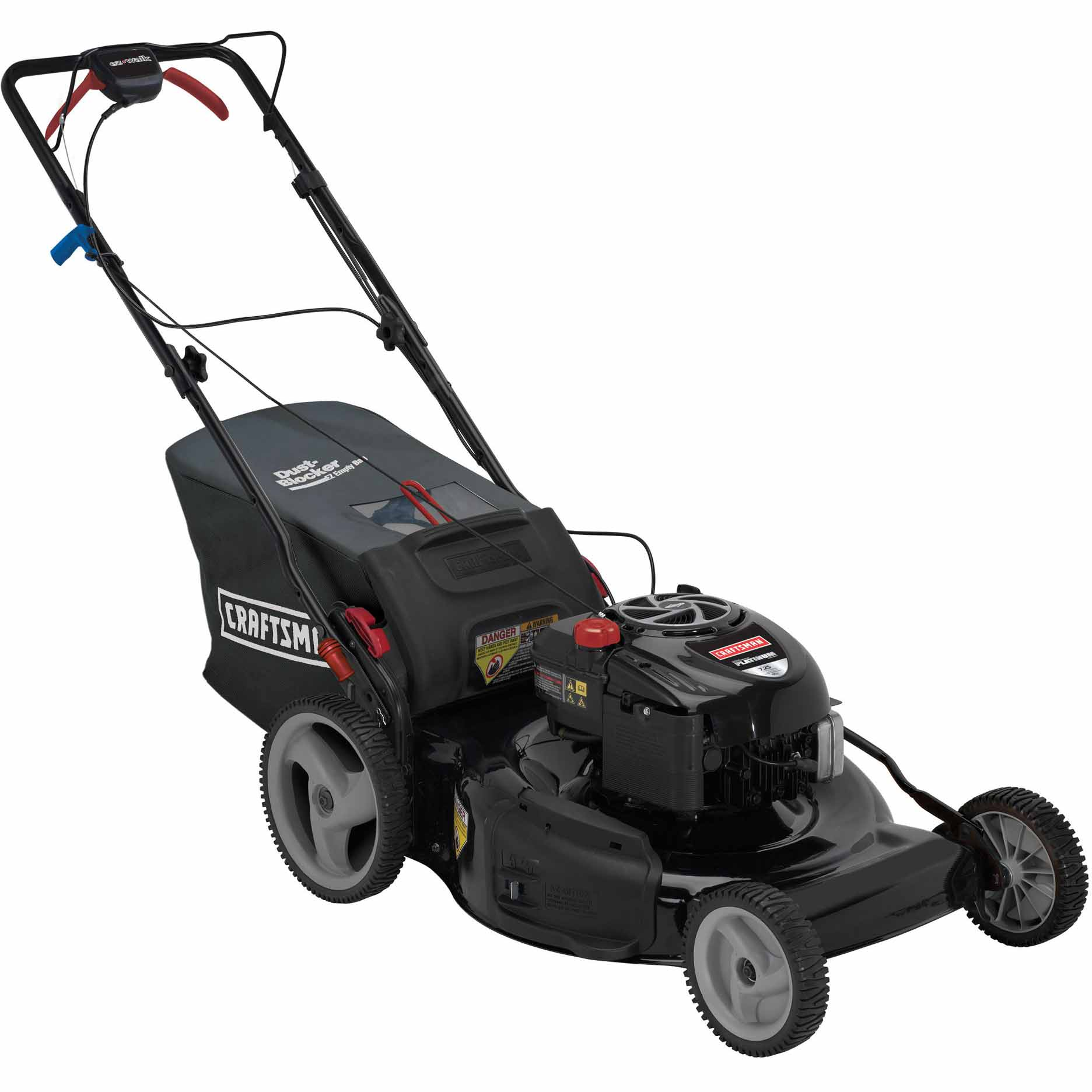 "Craftsman 190cc* Briggs & Stratton Platinum Engine, 22"" Rear Drive Self-Propelled EZ Lawn Mower 50 States"