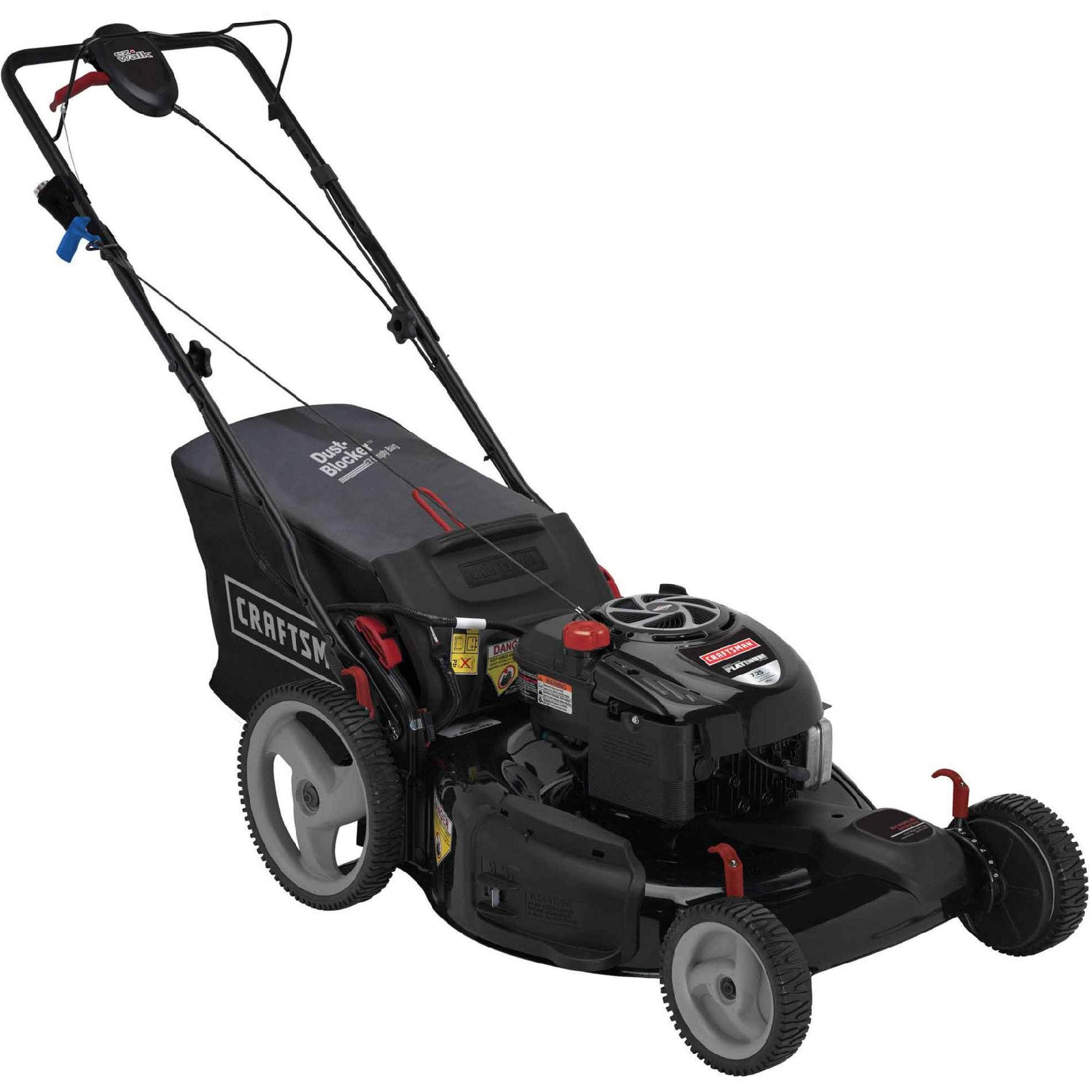 "Craftsman 190cc* Briggs & Stratton Platinum Engine, 22"" Front Drive Self-Propelled EZ Lawn Mower 50 States"