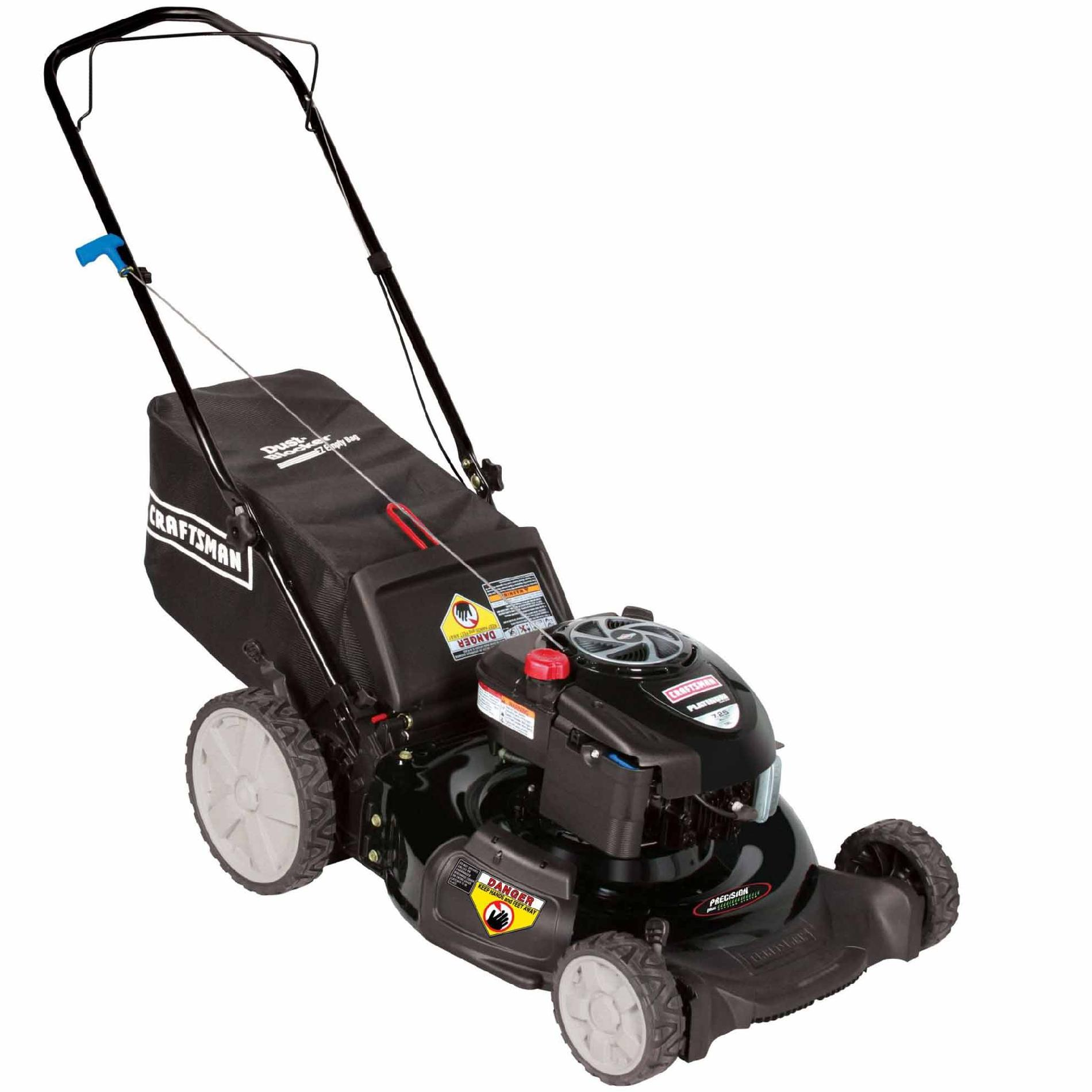 Craftsman 190cc* Briggs & Stratton Engine, High Wheel Rear Bag Push Mower 50 States