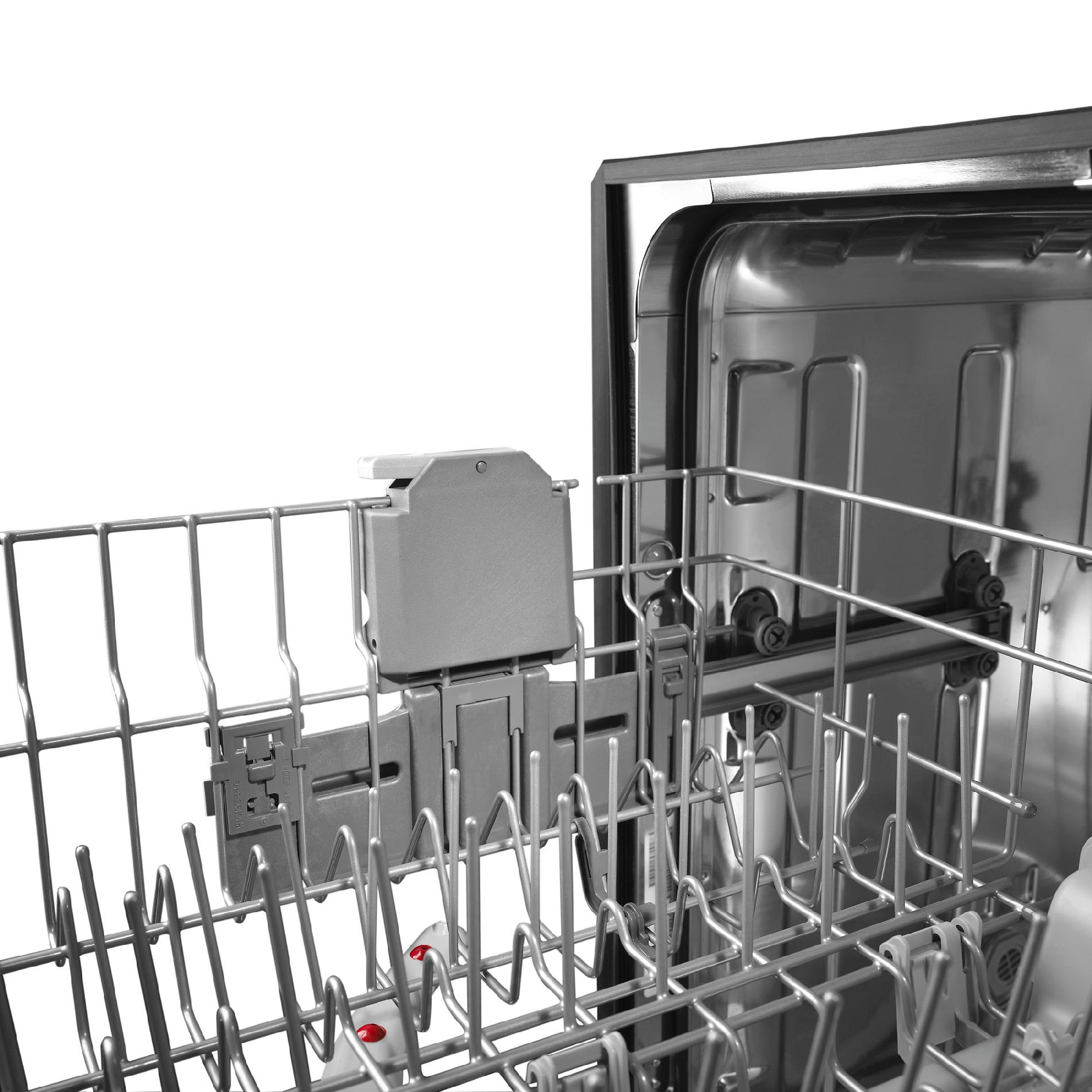 """Kenmore 24"""" Built-In Dishwasher w/ Stainless-Steel Tub - Stainless Steel"""