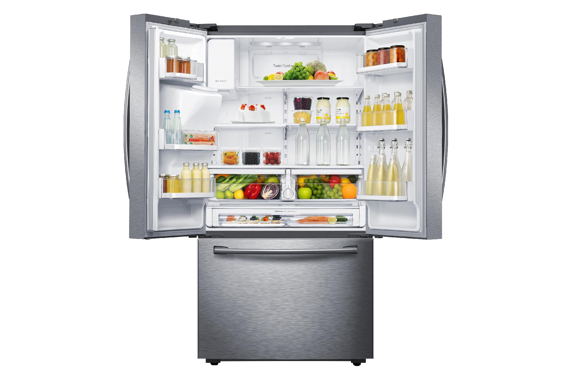 Samsung 22.5 cu. ft. Counter-Depth French Door Refrigerator - Stainless Steel