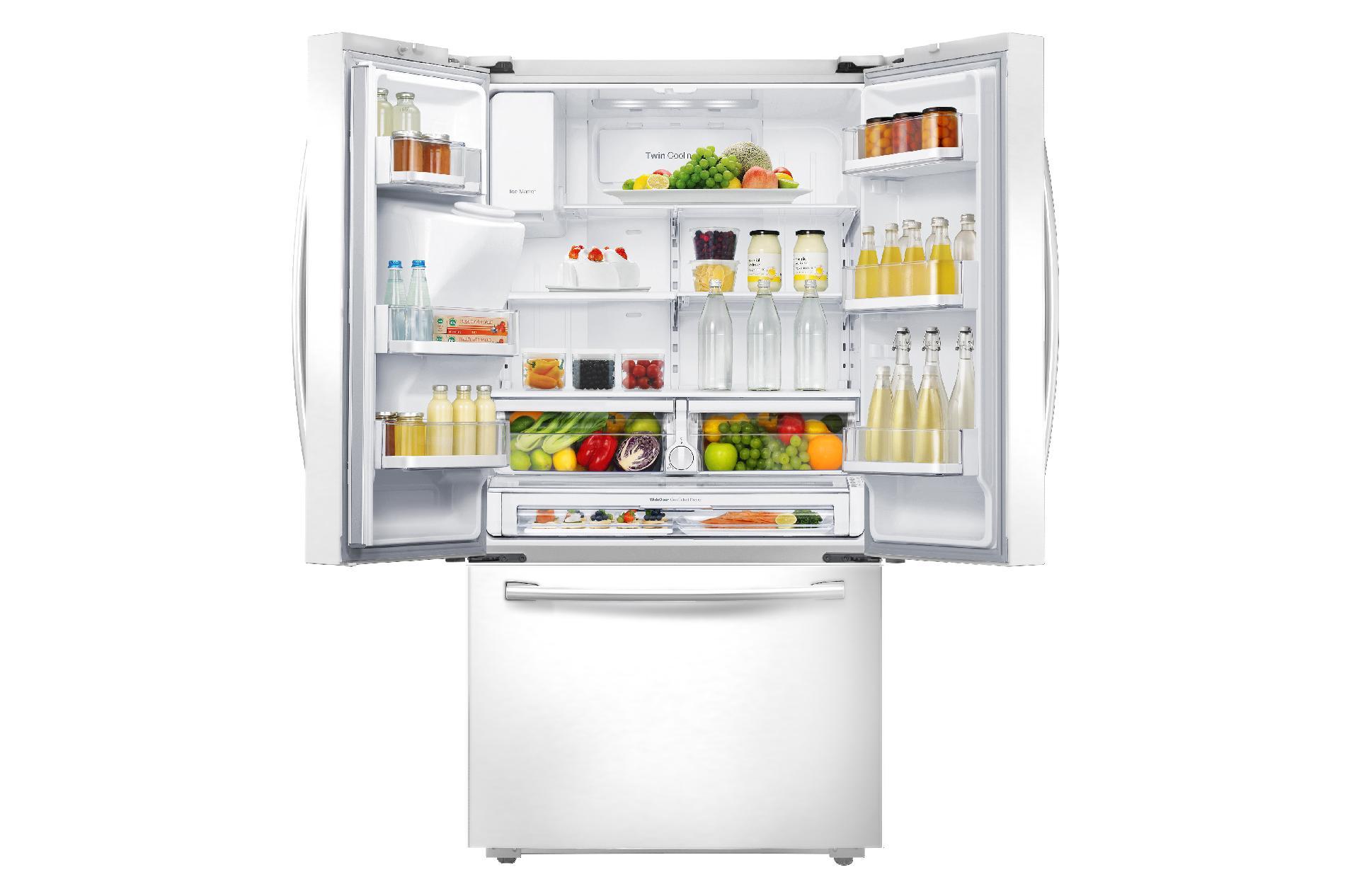 Samsung 22.5 cu. ft. Counter-Depth French Door Refrigerator - White