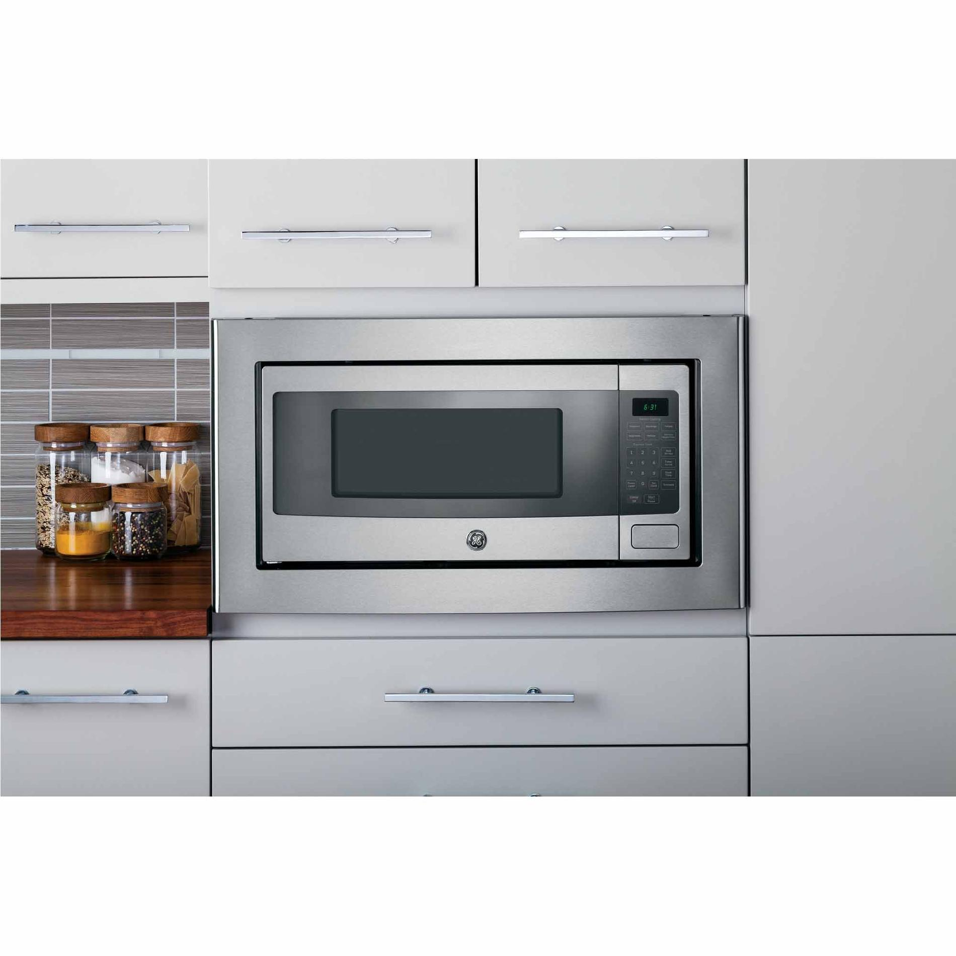 GE Profile PEM31SFSS 1.1 cu. ft. Countertop Microwave Oven - Stainless