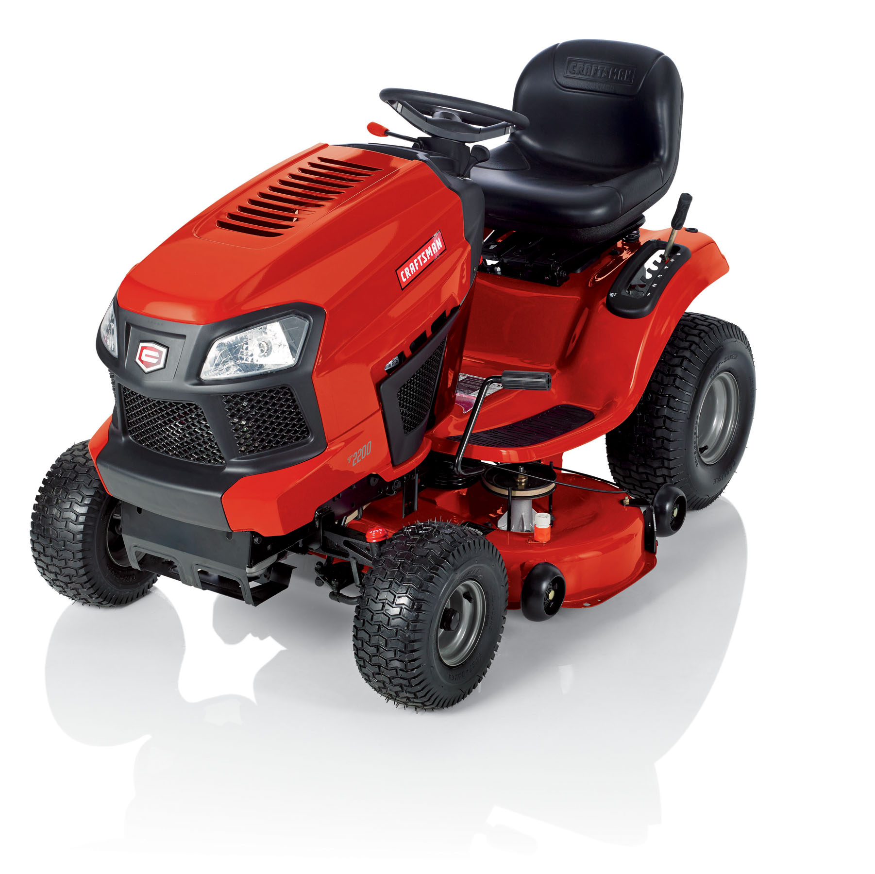 "Craftsman 42"" Auto 19HP Briggs & Stratton Turn Tight® Riding Mower"