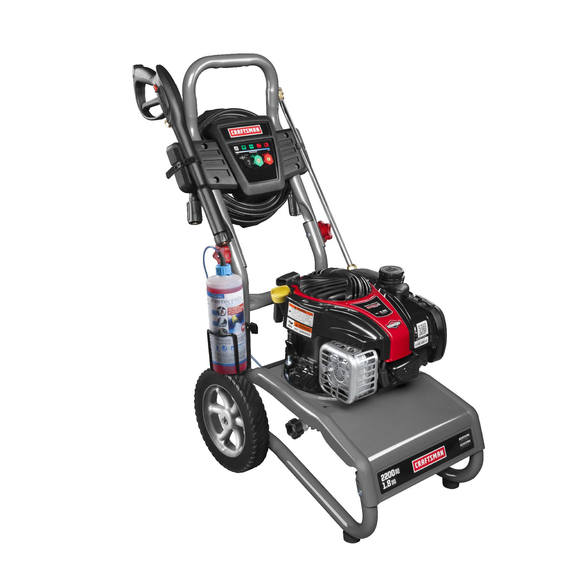 Craftsman 2200 PSI, 1.9 GPM Gas Powered Pressure Washer