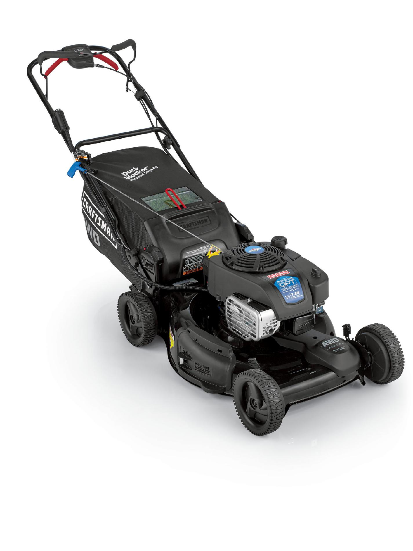 "Craftsman 175cc OHV Briggs & Stratton Quiet Power Technology Engine, 22"" All-Wheel Drive Lawn Mower"