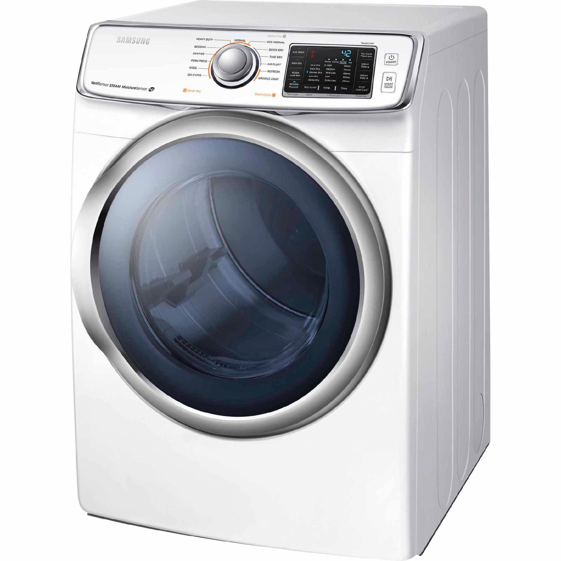 Samsung DV45H6300GW 7.5 cu. ft. Gas Dryer - White