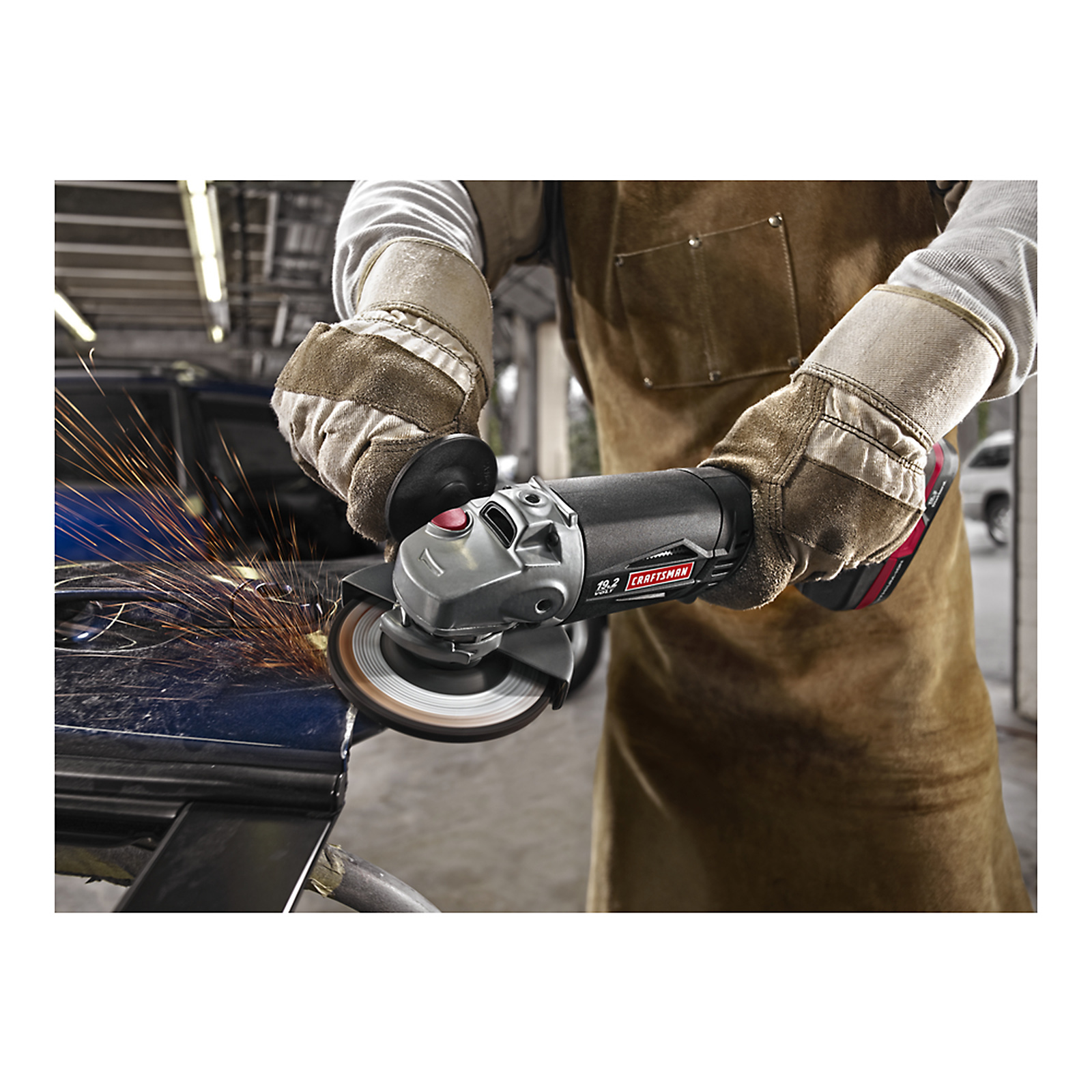 """Craftsman C3 Lithium-Ion 1/2"""" Impact Wrench and Angle Grinder Kit"""