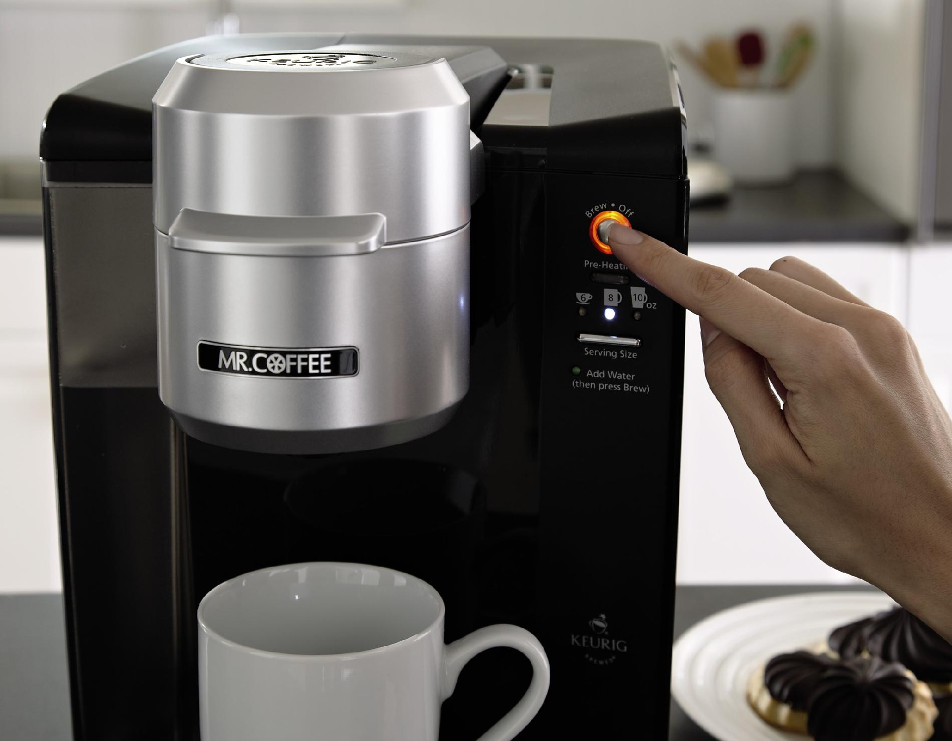 Mr. Coffee Single Cup K-Cup® Brewing System, 40 ounces