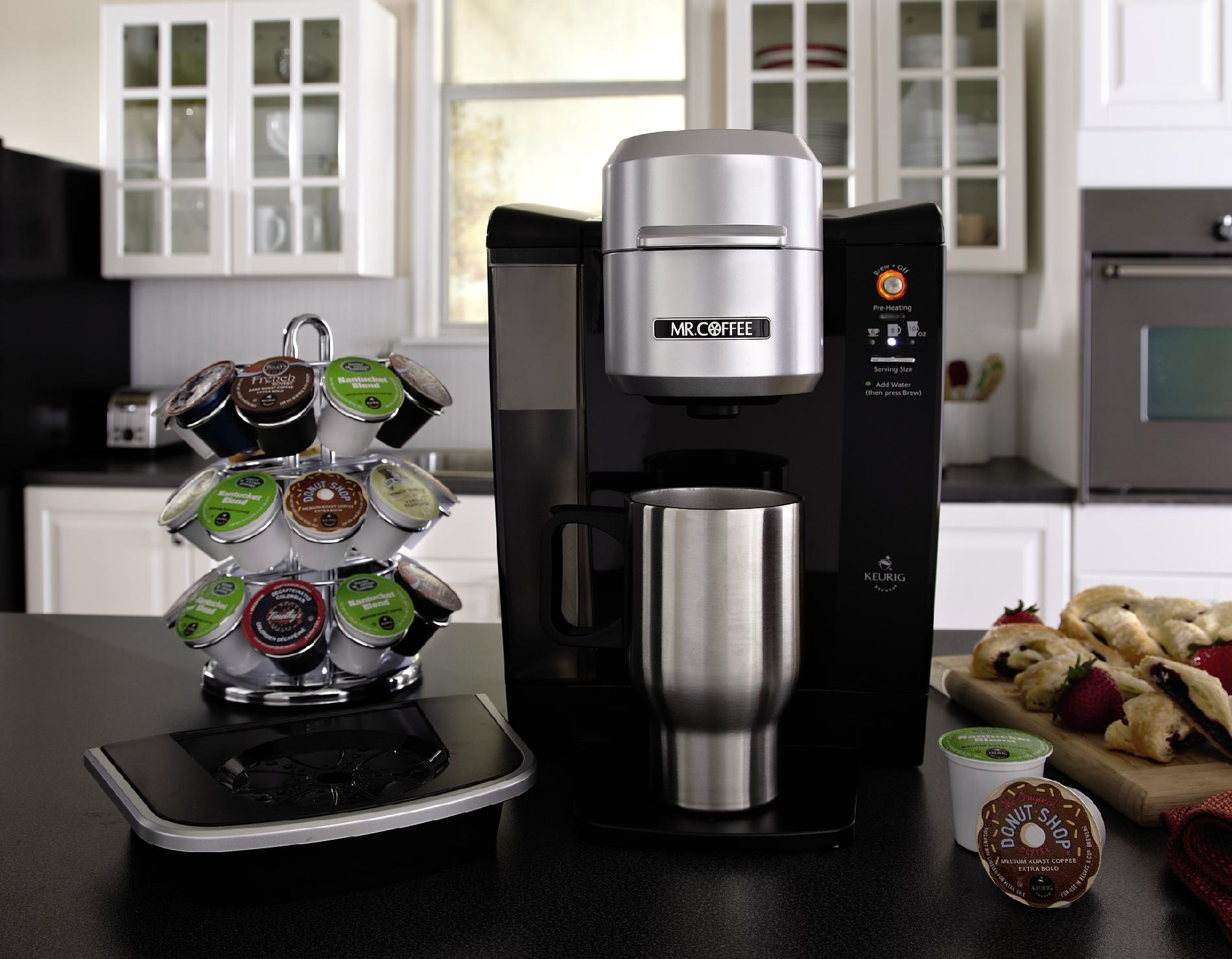 Mr. Coffee Single Cup K-Cup Brewing System