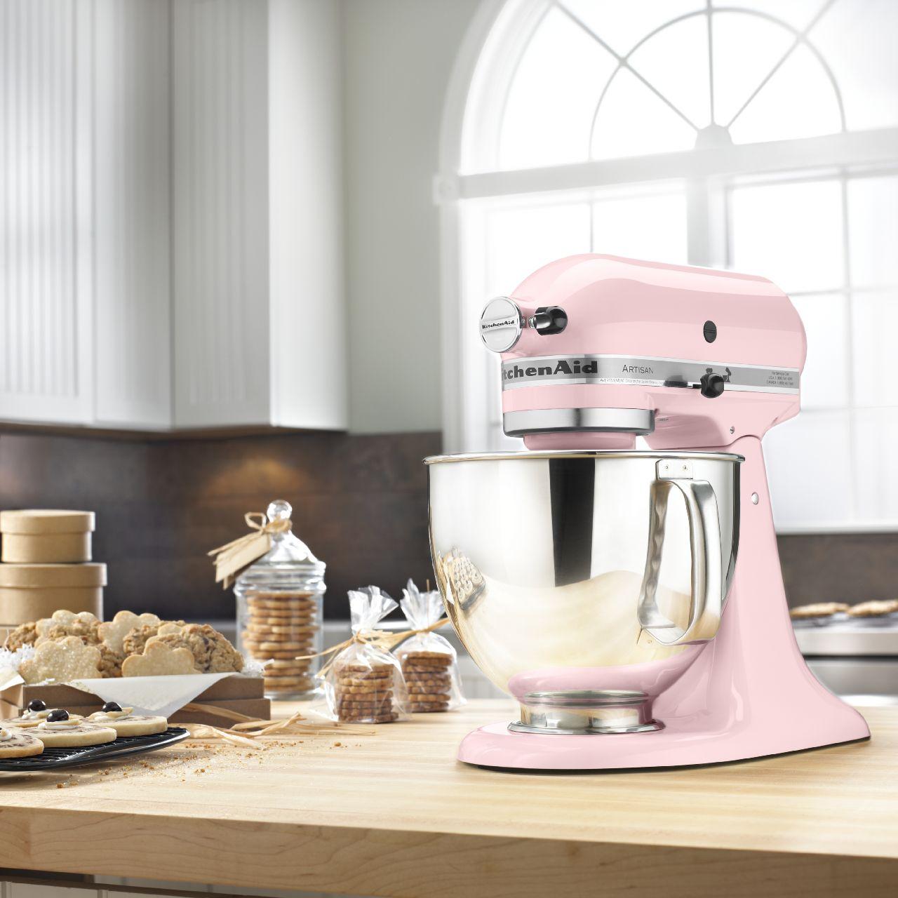 KitchenAid KSM150PSPK Artisan® Series Pink 5 Quart Stand Mixer