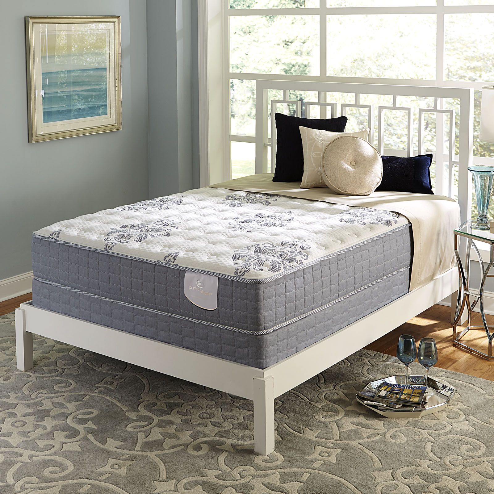 Serta Perfect Sleeper Perfect Sleeper Kaden Gel Firm  II Queen  Mattress Only