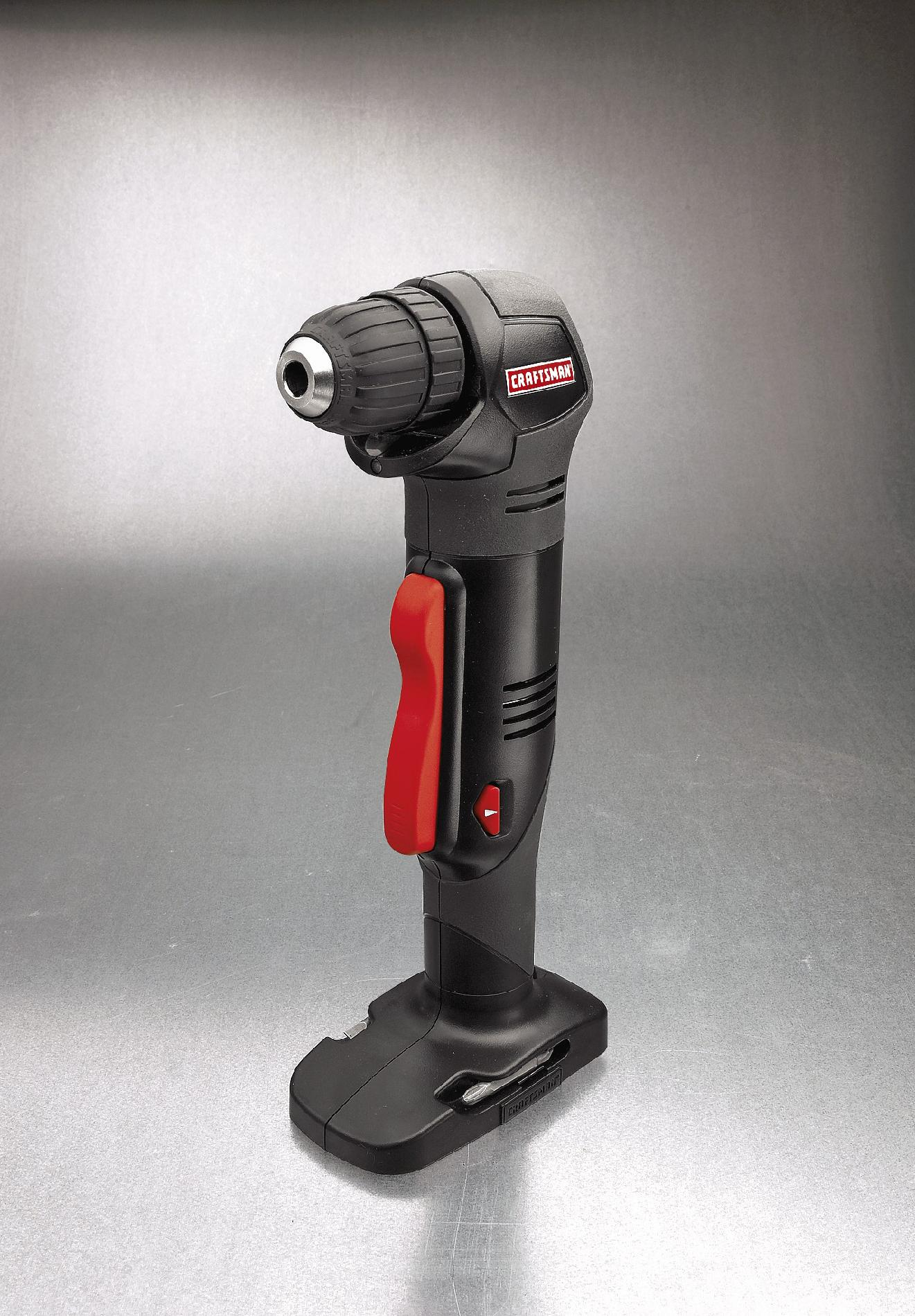 "Craftsman C3 19.2-Volt 3/8"" Right Angle Drill/Driver"