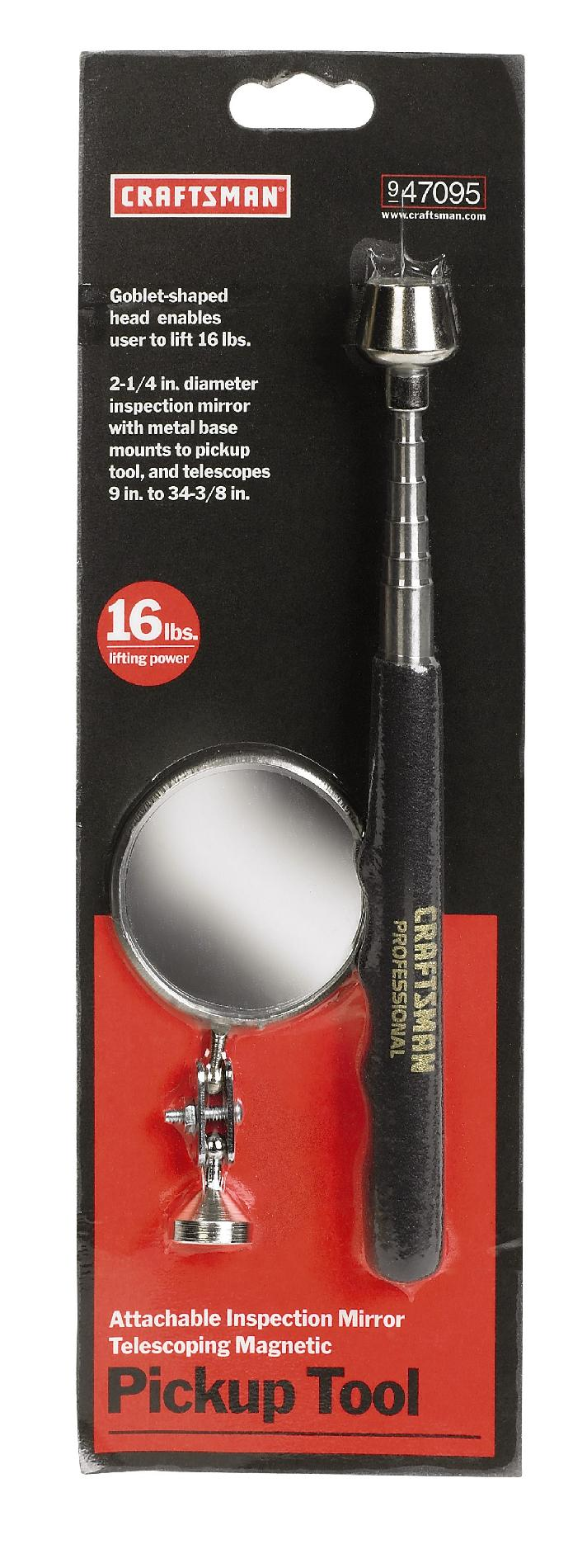 Craftsman Magnetic Pick-Up Tool with Mirror