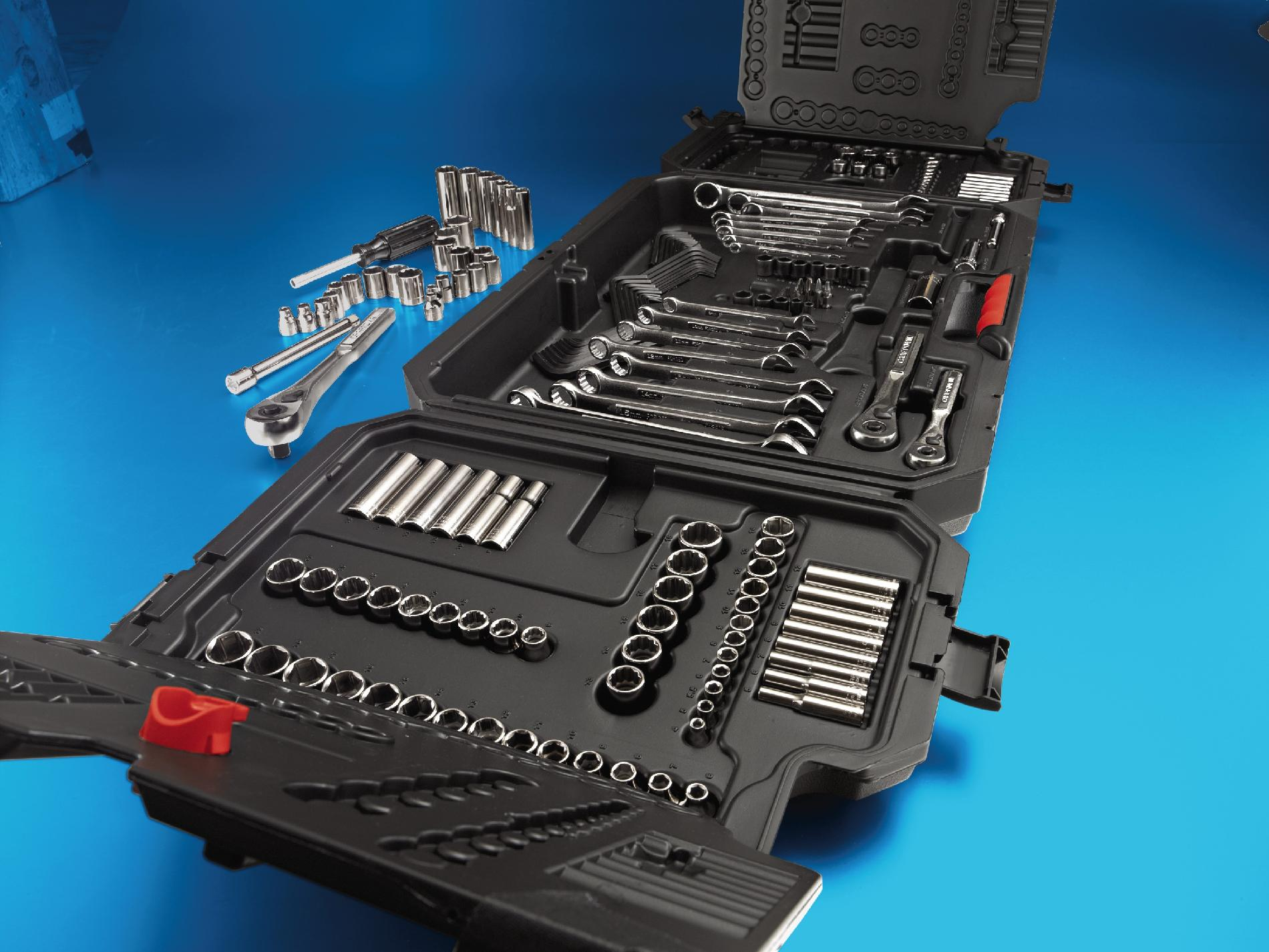 Craftsman 201 pc. Mechanic's Tools Set w/ Tri-Fold Case