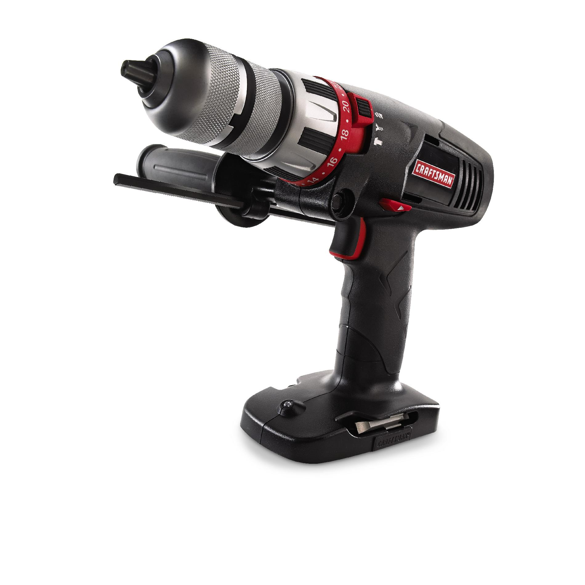Craftsman 19.2-Volt Cordless 1/2-In. Hammer Drill/Driver