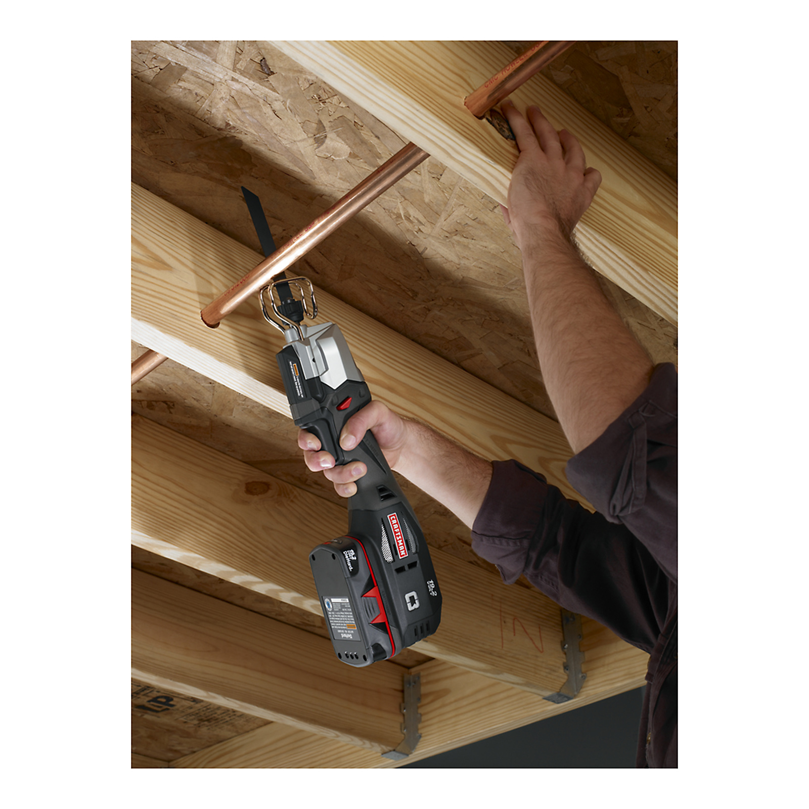 Craftsman 19.2-volt C3 Cordless One-Handed Reciprocating Saw