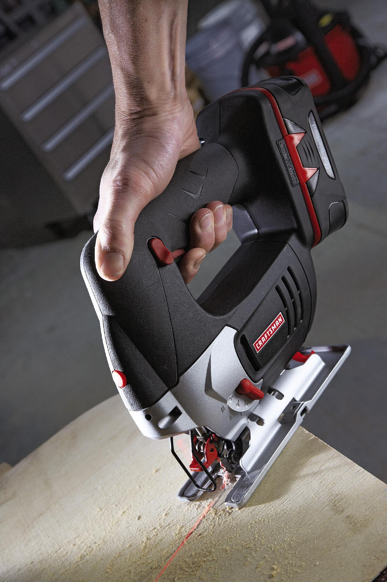 Craftsman C3 19.2-Volt Jig Saw with Laser Trac