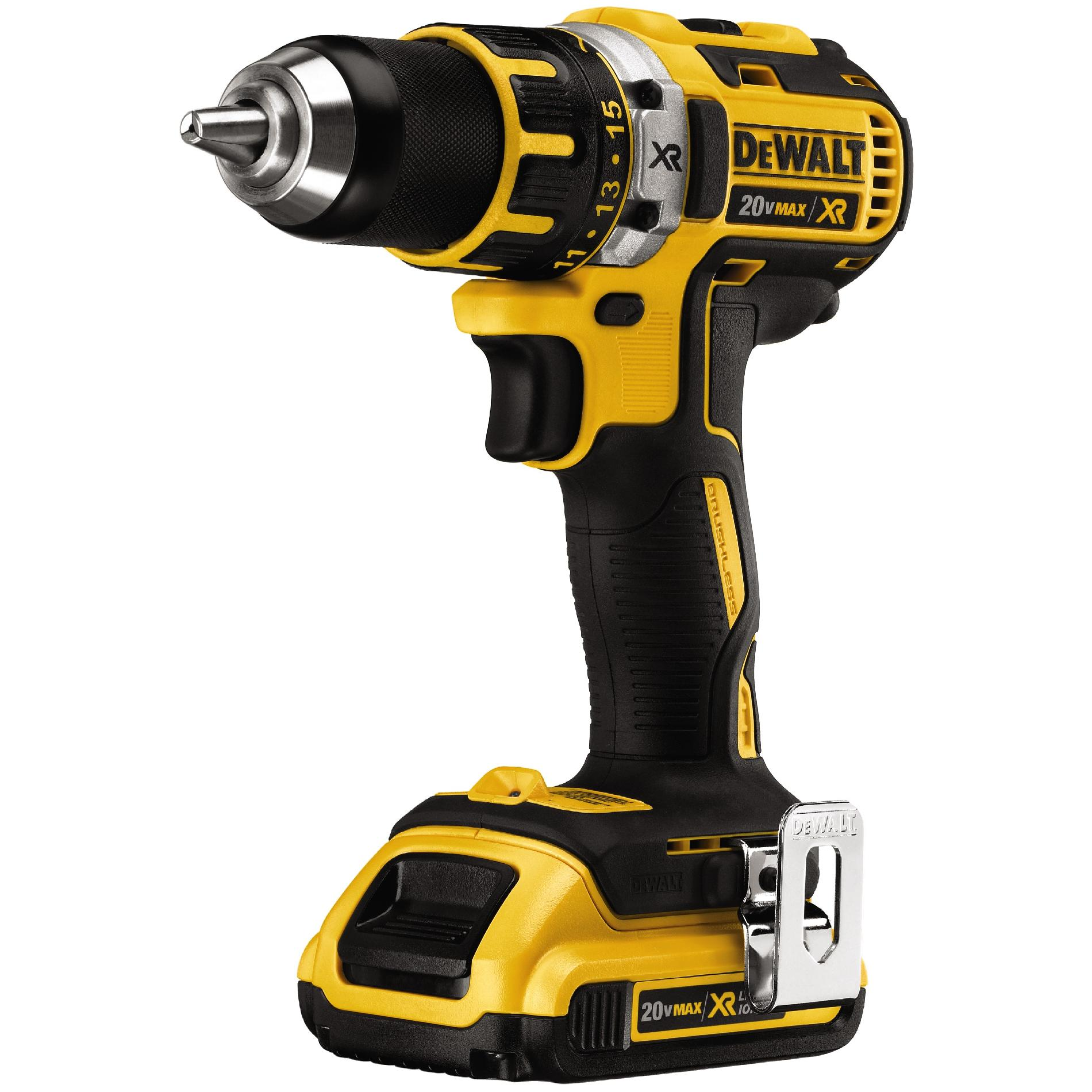 DeWalt 20 V MAX* XR Lithium Ion Brushless 1/4 In. Impact Driver Kit