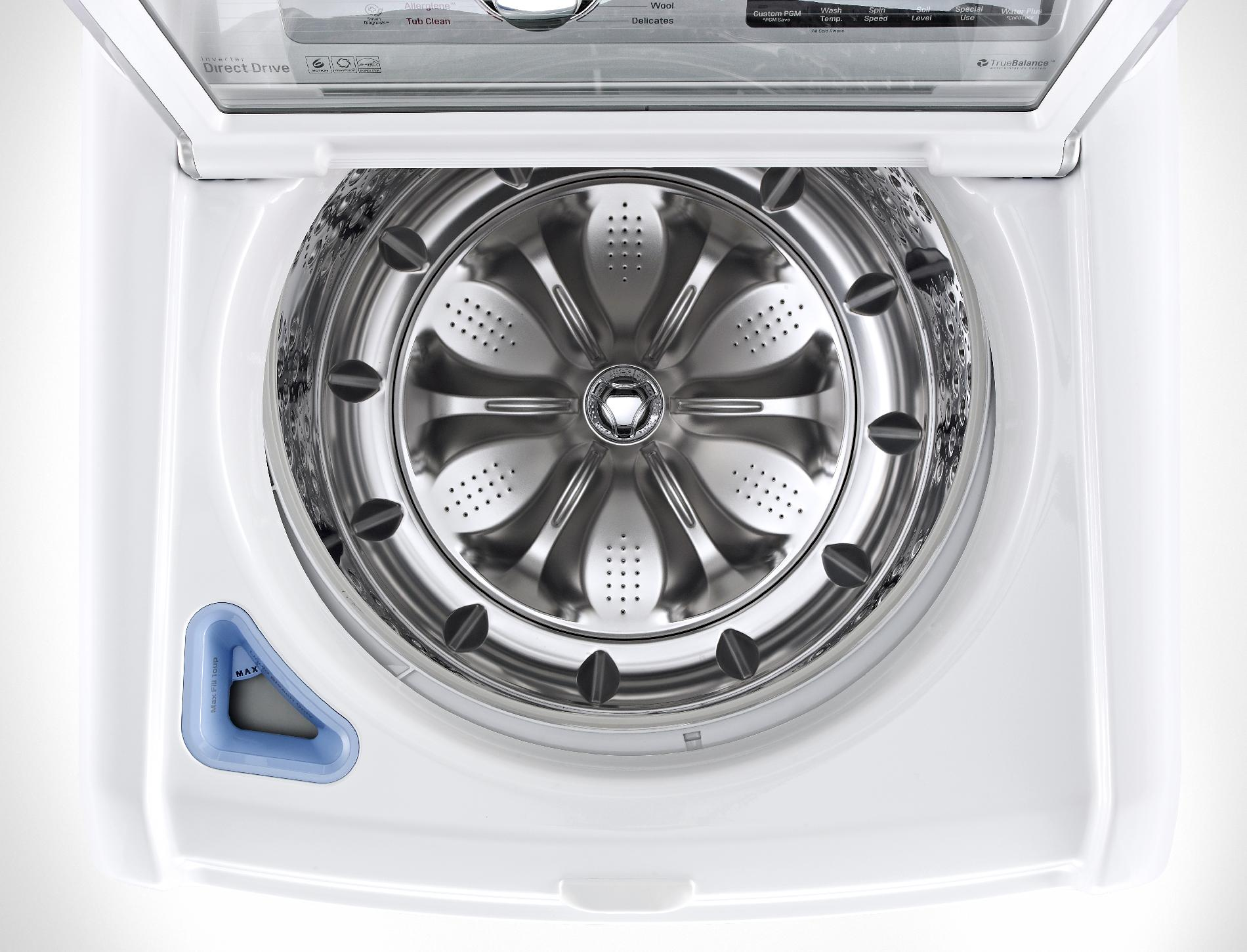 LG 5.2 cu. ft. High Efficiency Top-Load Washer w/ TurboWash™ - White
