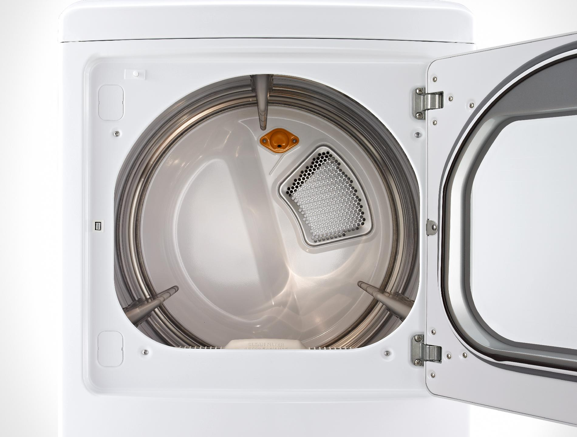 LG DLGX5681W 7.3 cu. ft. Gas Dryer w/ SteamSanitary™ - White