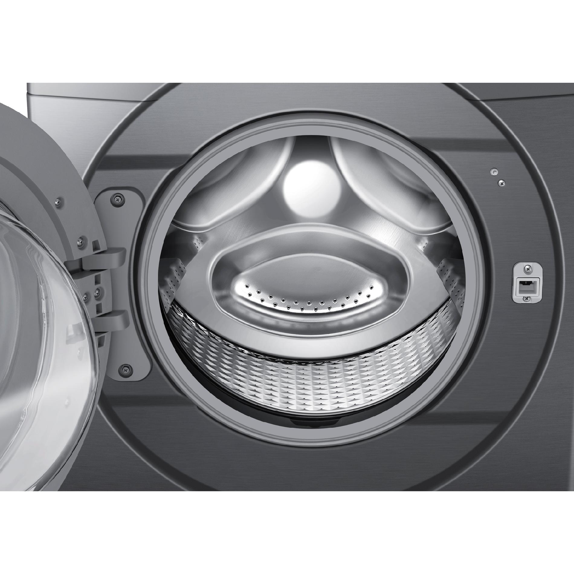 Samsung 4.2 cu. ft. Front-Load Washer w/ Steam Washing - Stainless Platinum