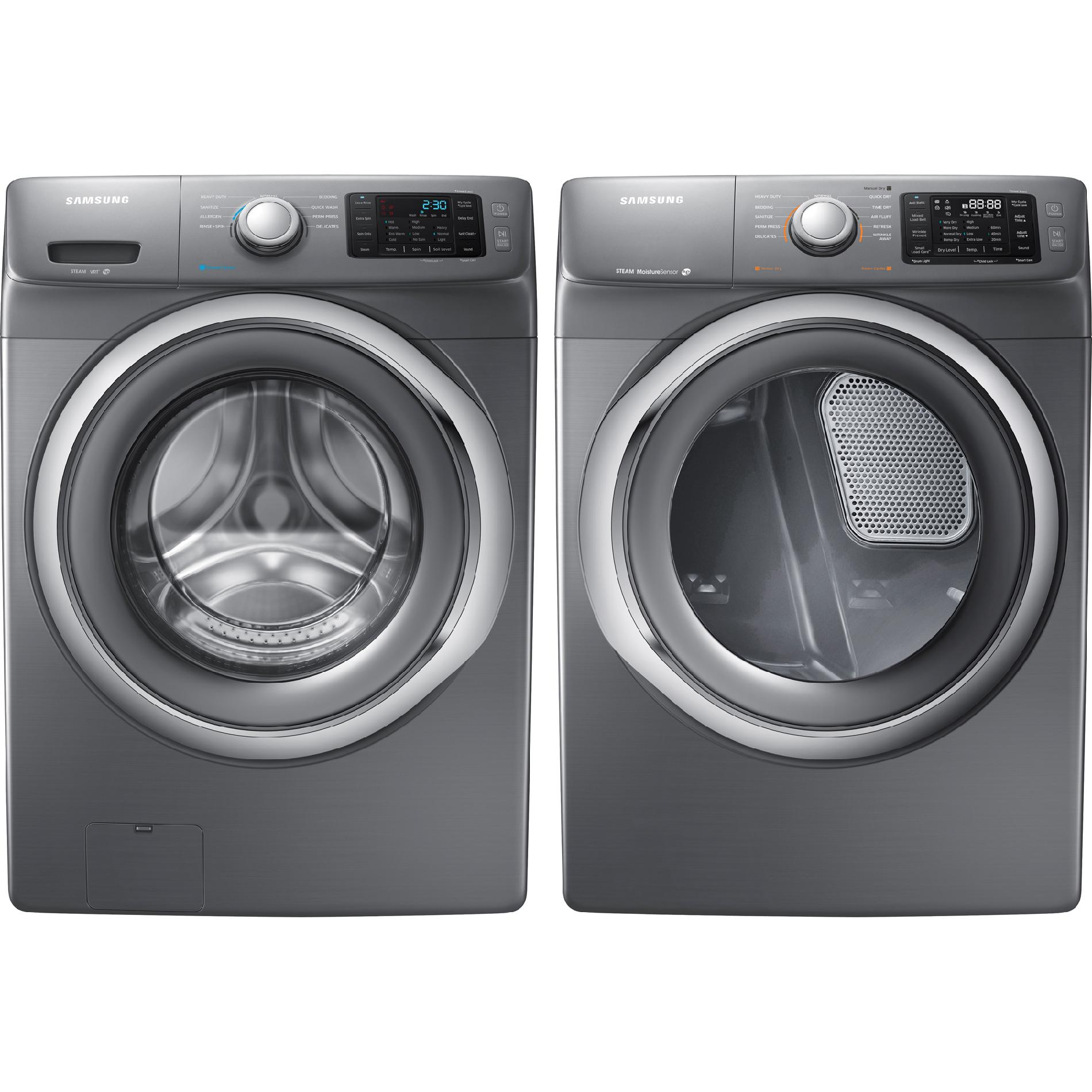 Samsung 7.5 cu. ft. Electric Dryer - Stainless Platinum