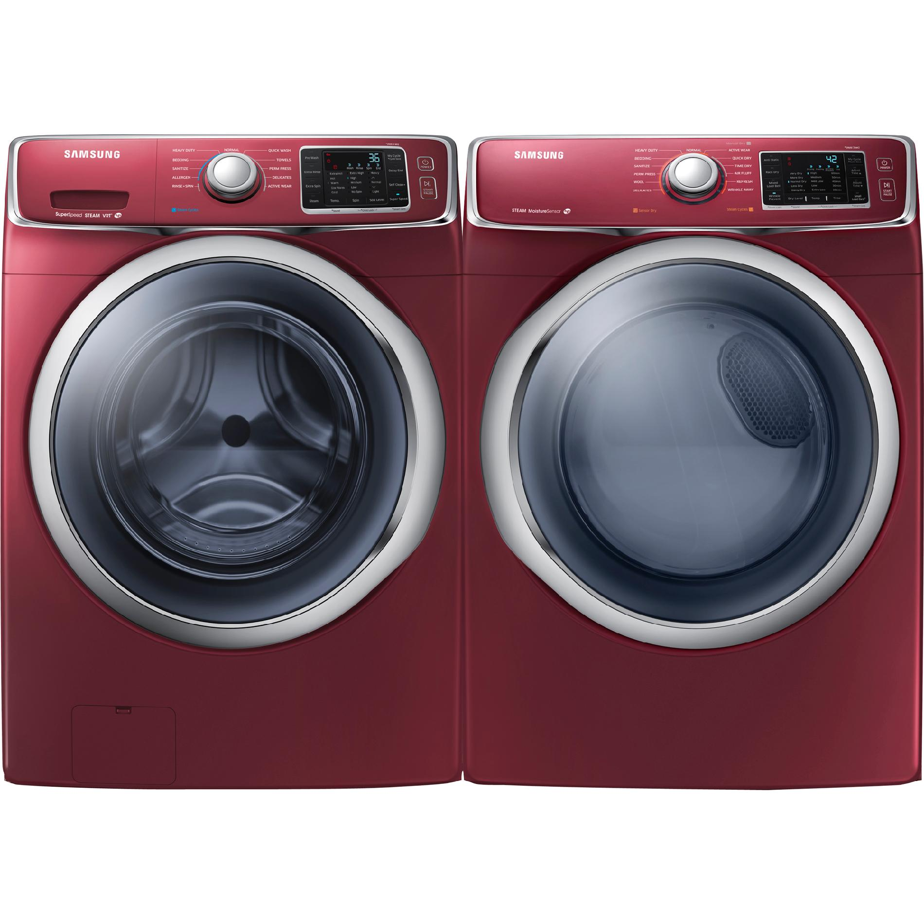 Samsung WF42H5400AF 4.2 cu. ft. Front-Load Washer - Merlot