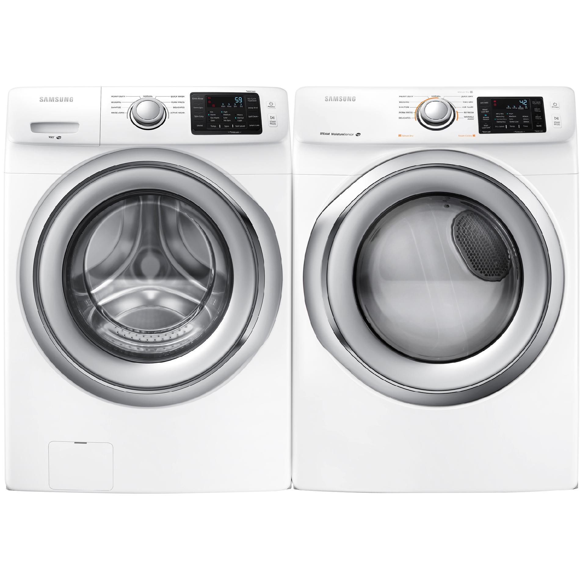 Samsung DV42H5200EW 7.5 cu. ft. Electric Dryer - White