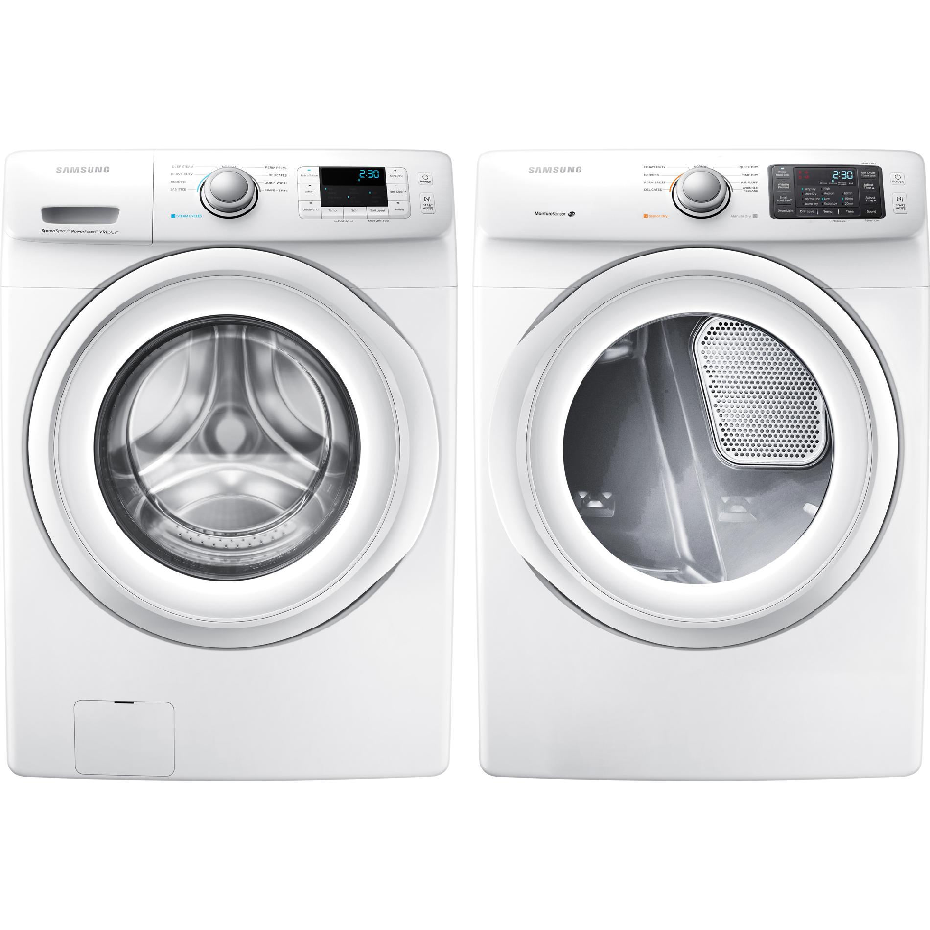 Samsung DV42H5000EW 7.5 cu. ft. Front-Load Electric Dryer - White