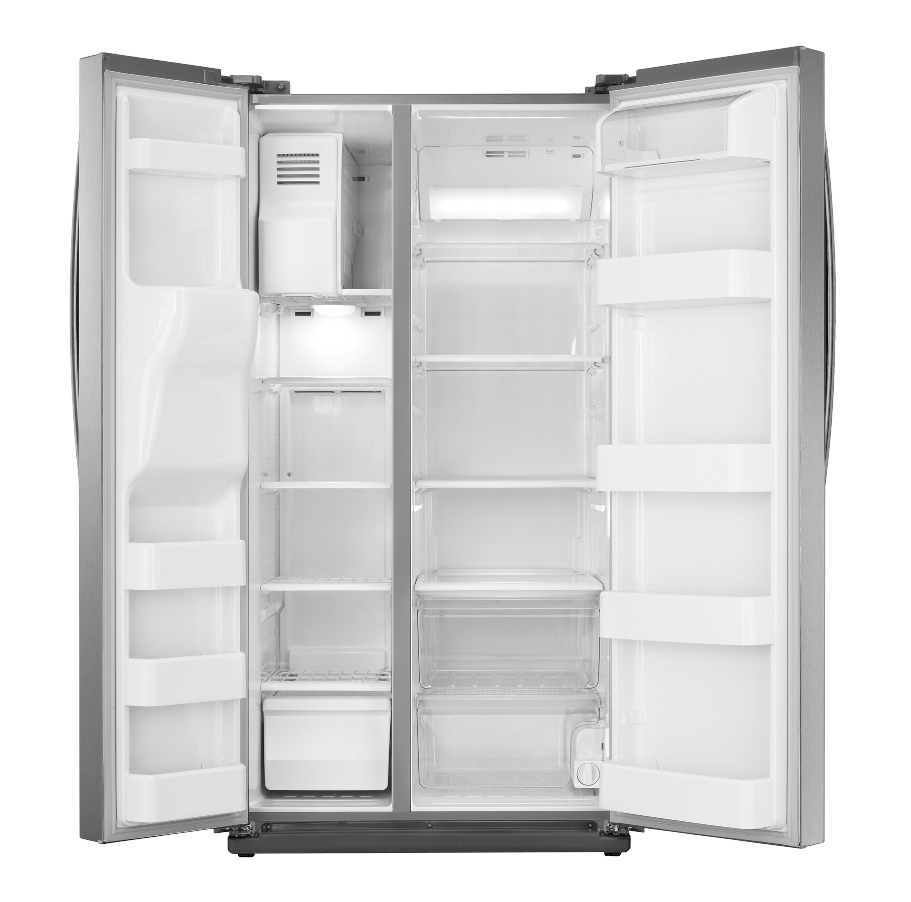 Samsung 24.5 cu. ft. Side-by-Side Refrigerator - Stainless Steel