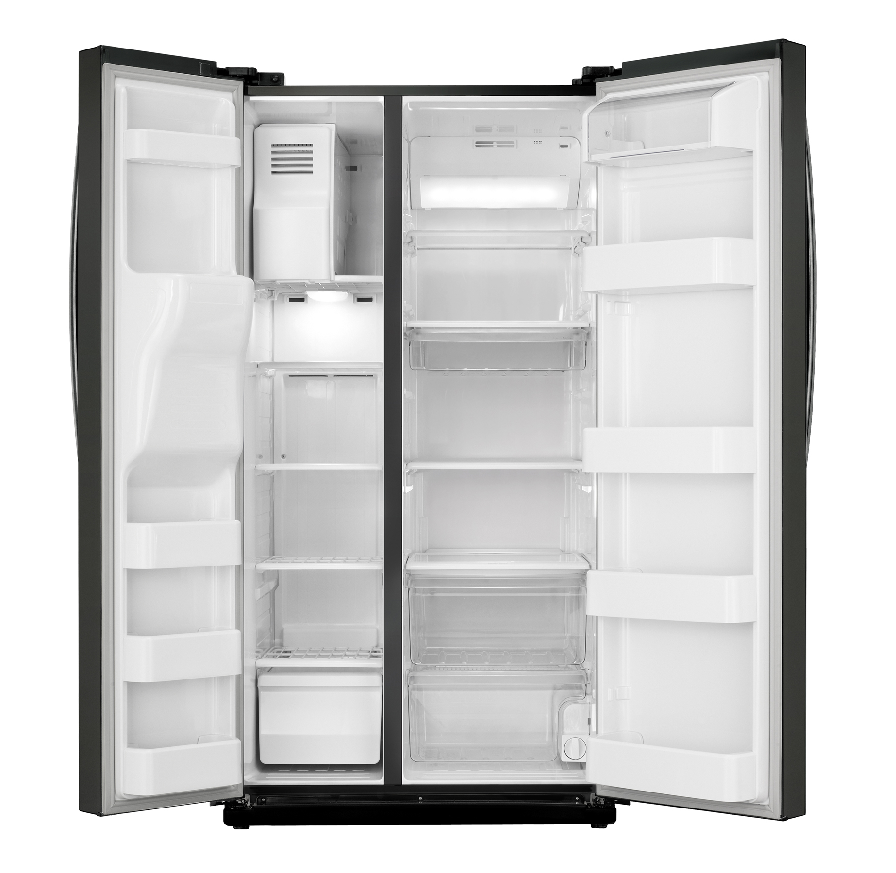 Samsung 24.5 cu. ft. Side-by-Side Refrigerator - Black