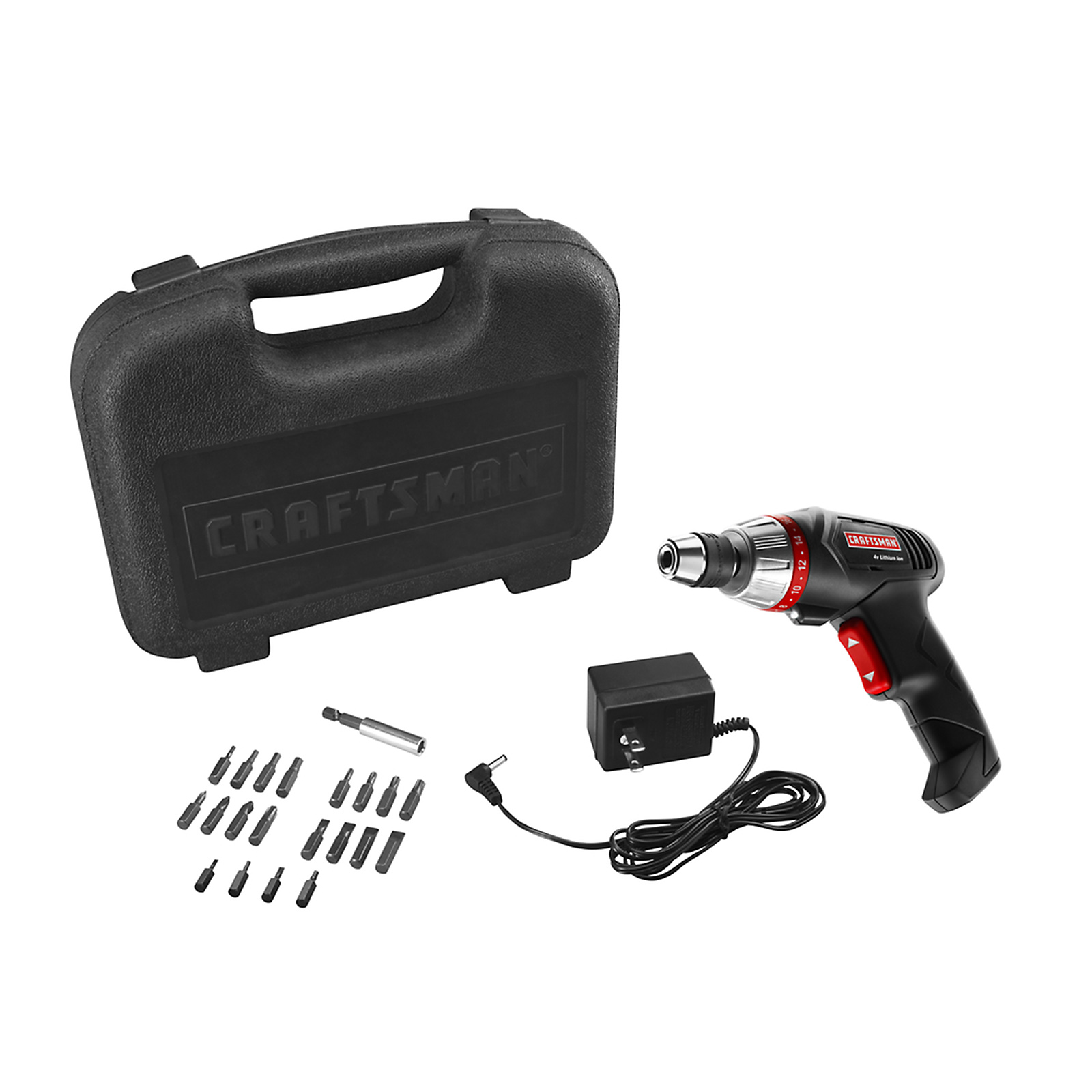 Craftsman 4 Volt Lithium-Ion Cordless 1/4 In. Screwdriver