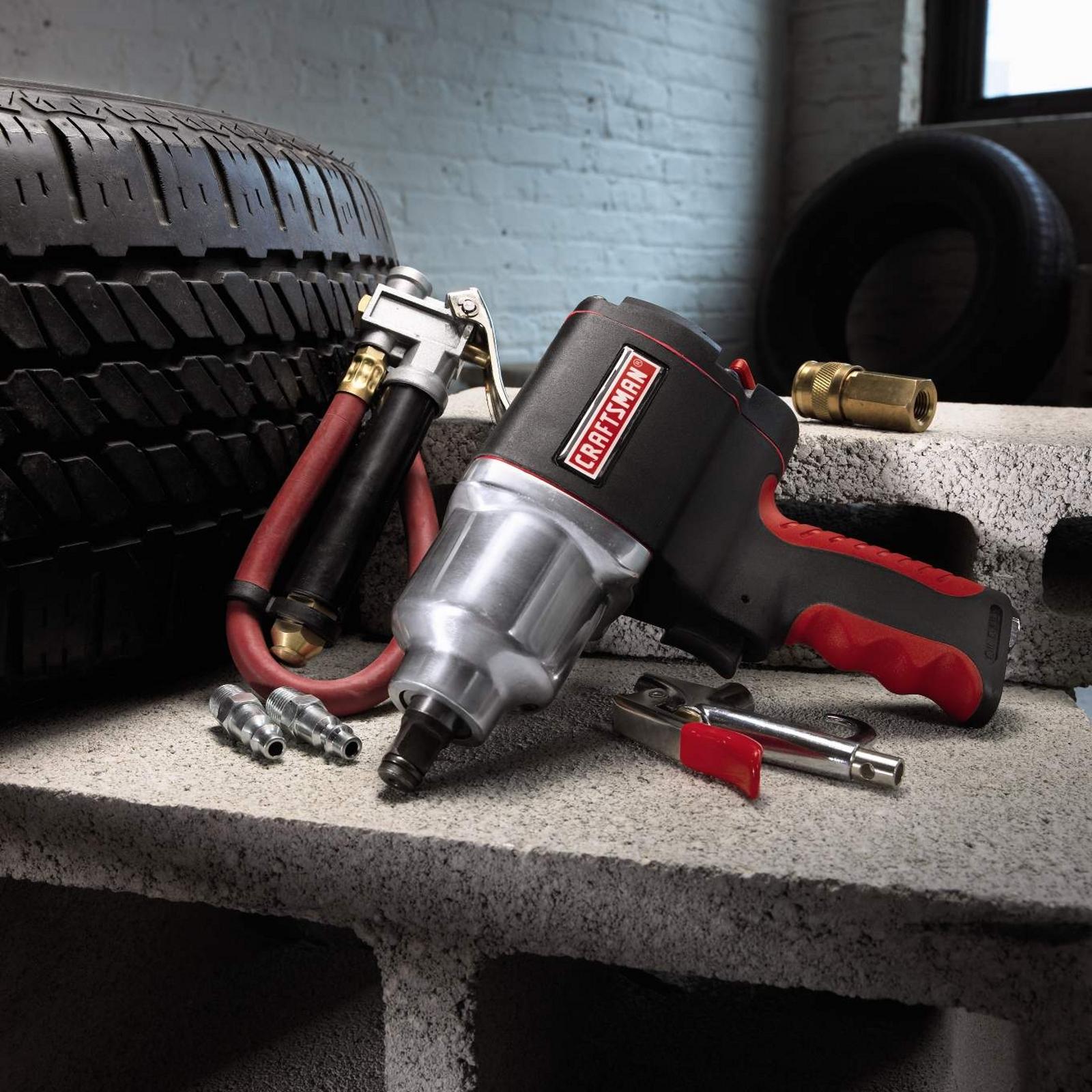 Craftsman 6 Piece Tire Maintenance Kit