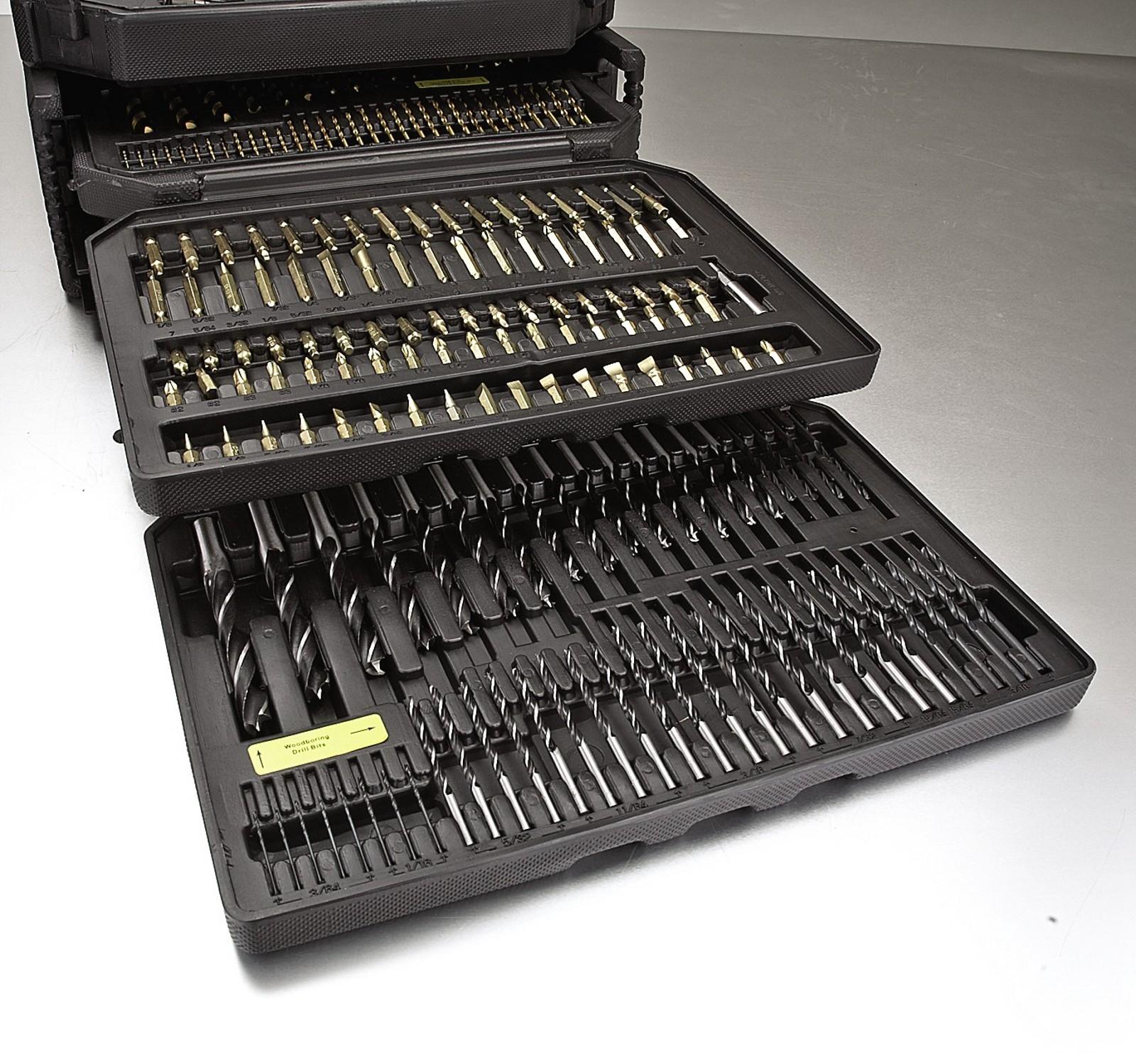 Portamate 300 Piece Drill Bit Set