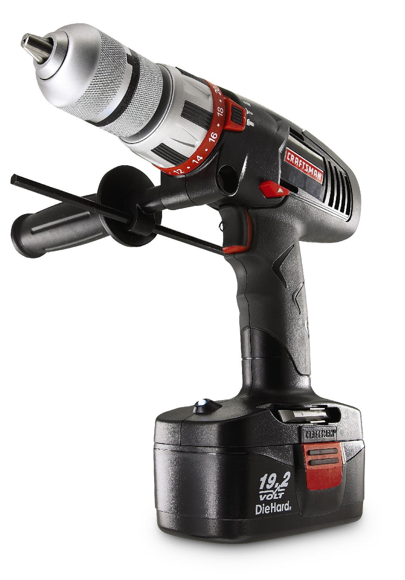 "Craftsman C3 19.2-Volt Cordless 1/2"" Hammer Drill/Driver"