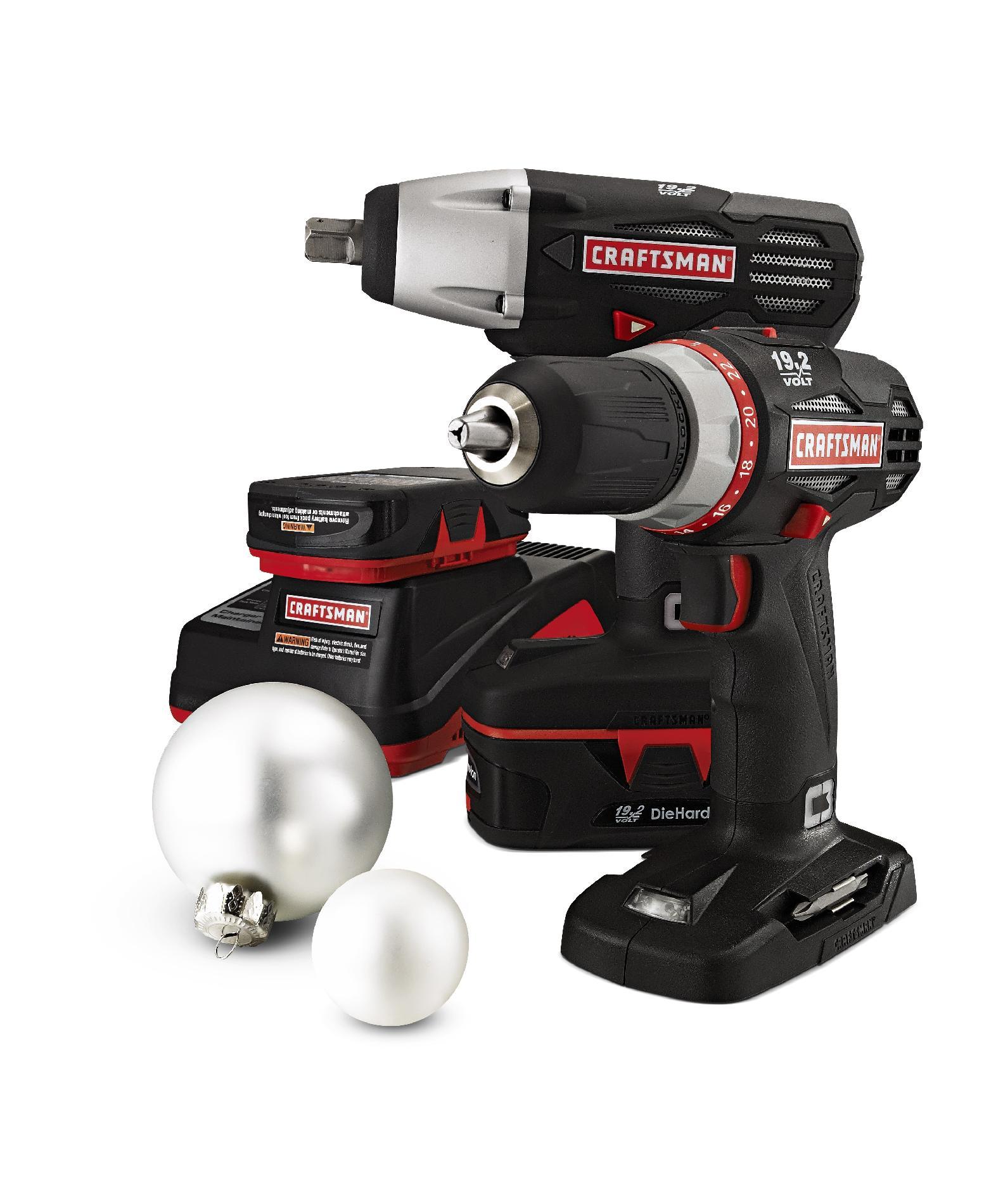 Craftsman 19.2V C3 Mechanics Combo