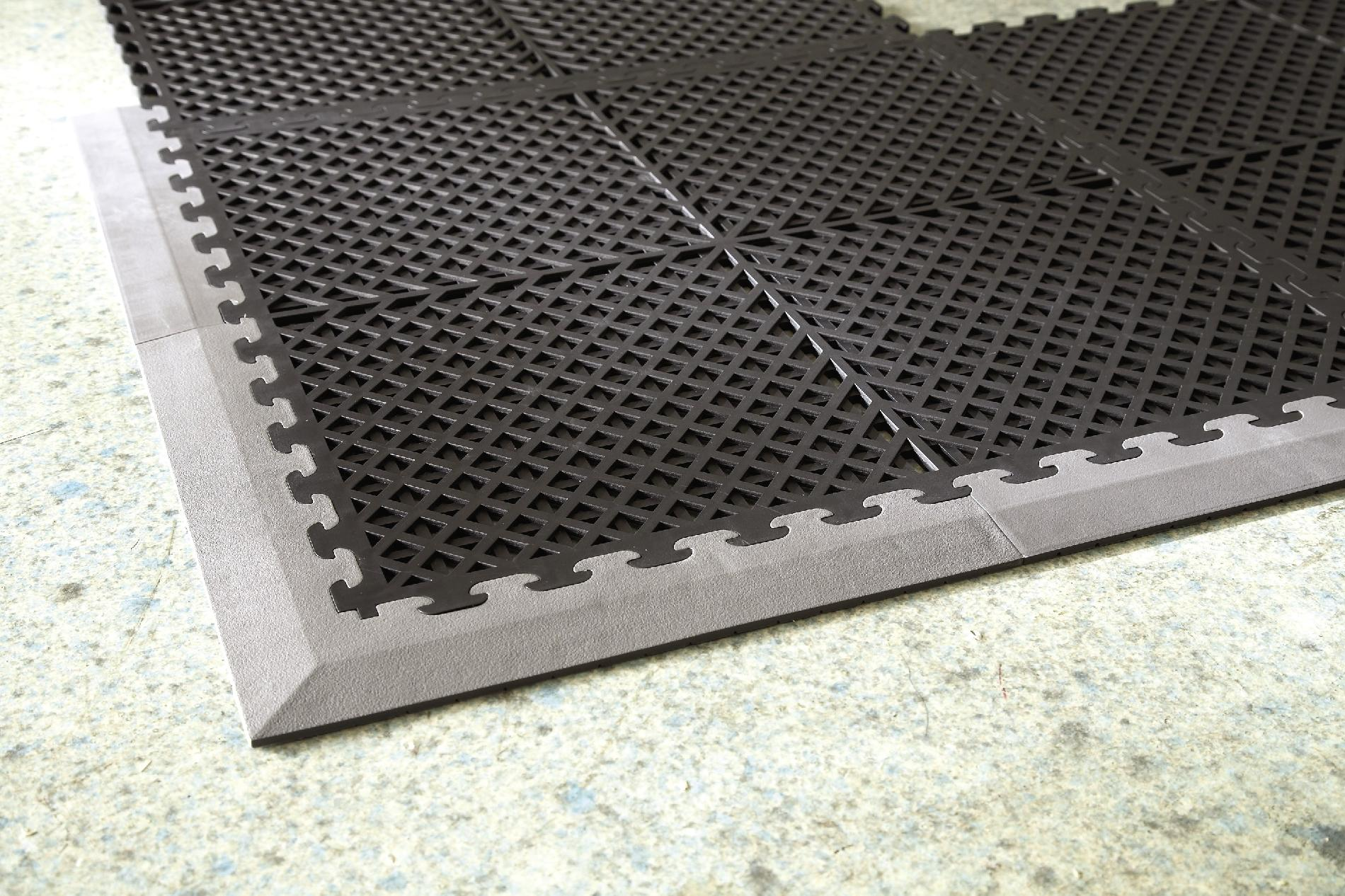 Craftsman Black PVC Multi-Purpose Ventilated Garage Flooring