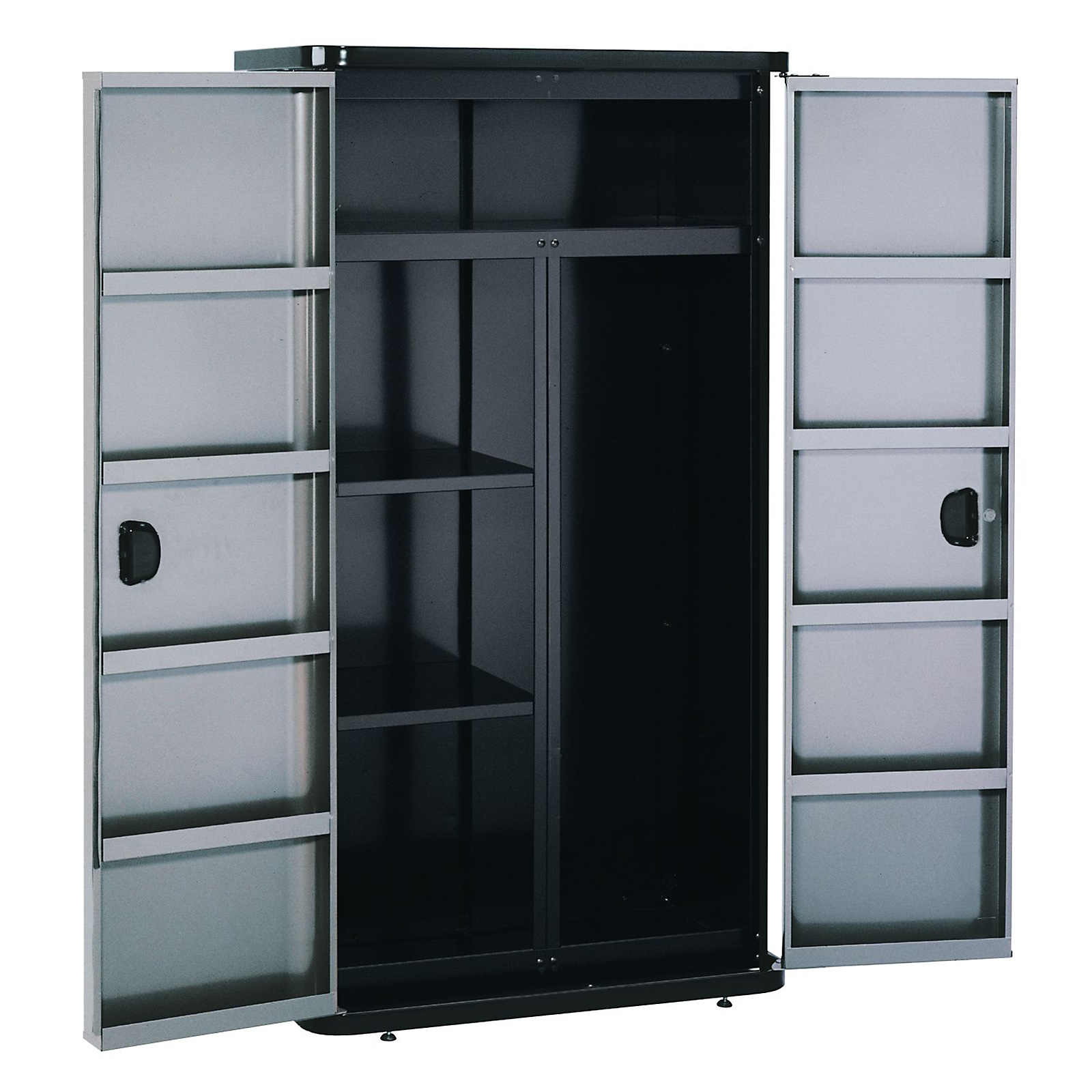 "Craftsman Professional 36"" Wide Floor Cabinet - Locker Style - Platinum"
